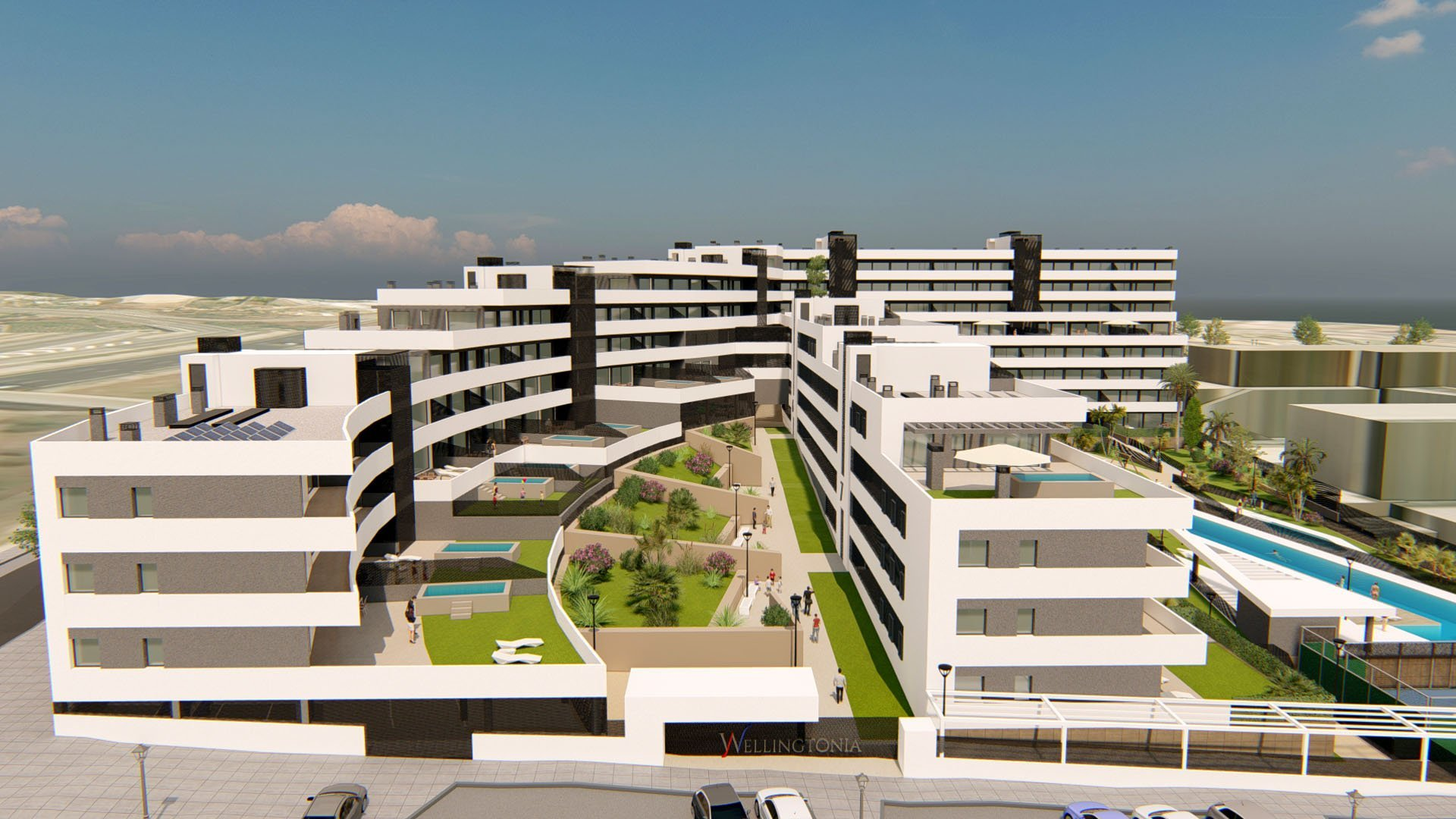 Residencial Wellingtonia: Residential complex in the heart of Estepona