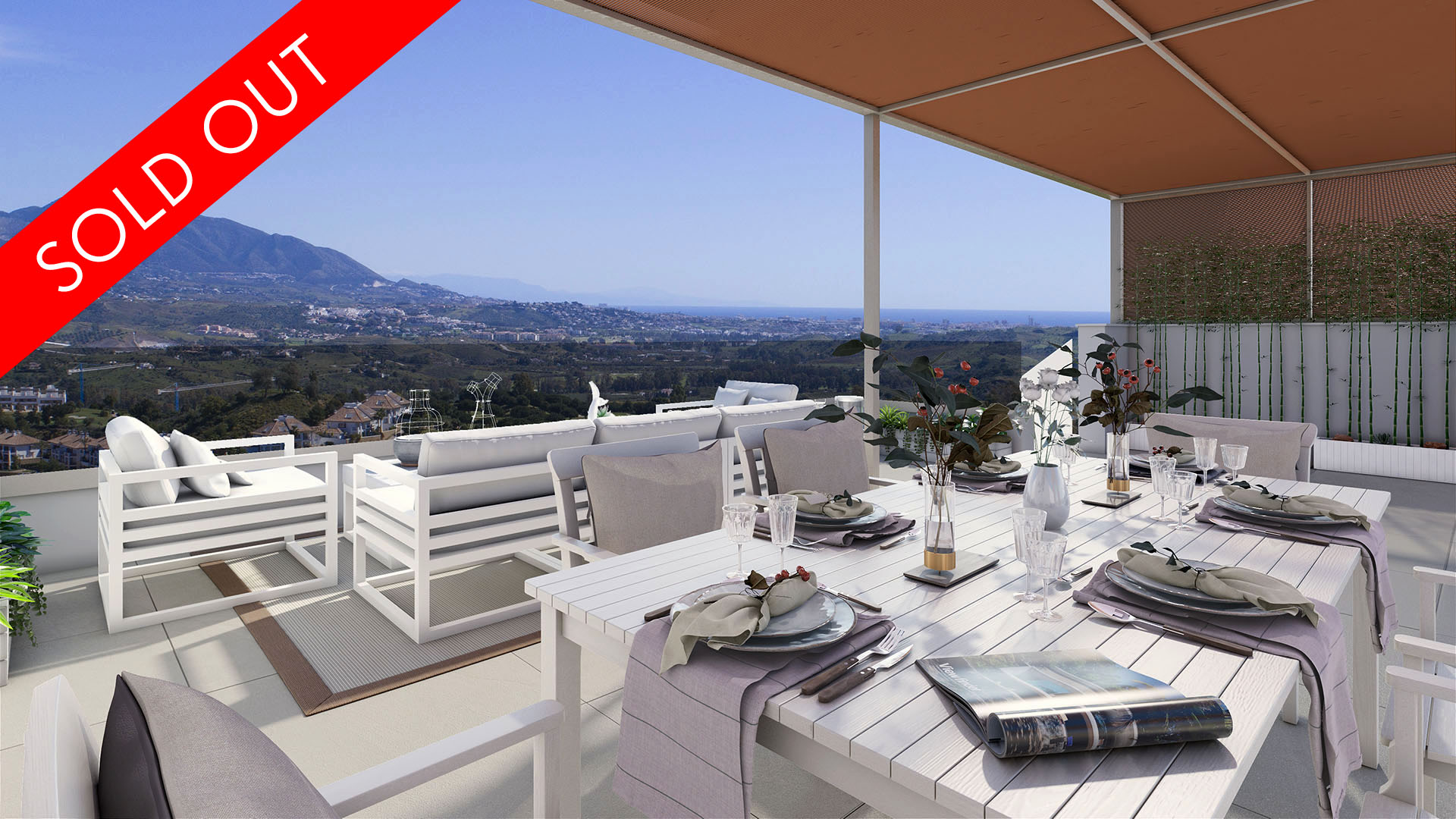 Grand View: New apartments in La Cala Golf Resort