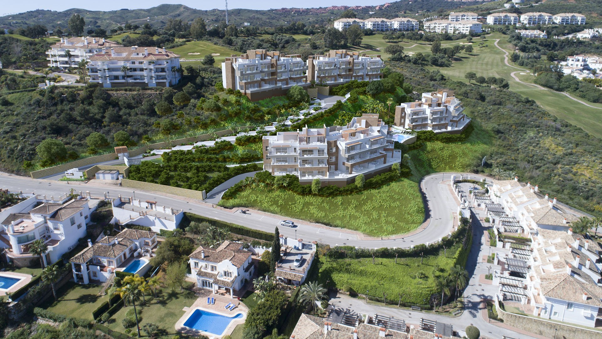Grand View: Nieuwbouw appartementen in La Cala Golf Resort