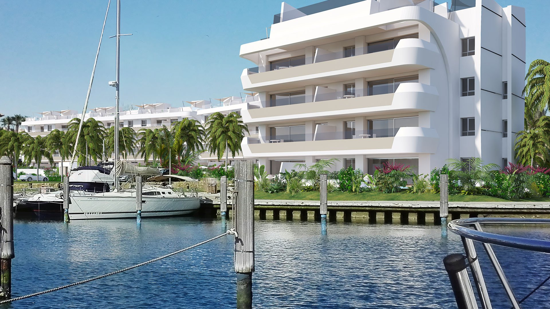 Pier 2: Exclusive newly built apartments in the marina of Sotogrande