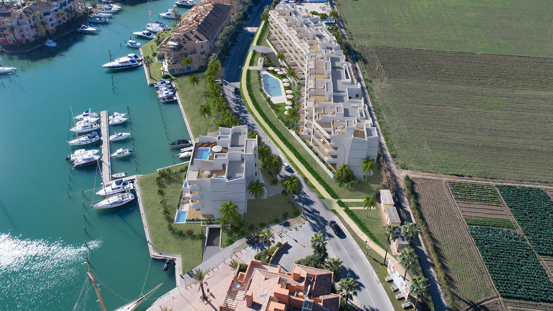 Pier 1: Exclusive apartments and a penthouse in the harbour of Sotogrande