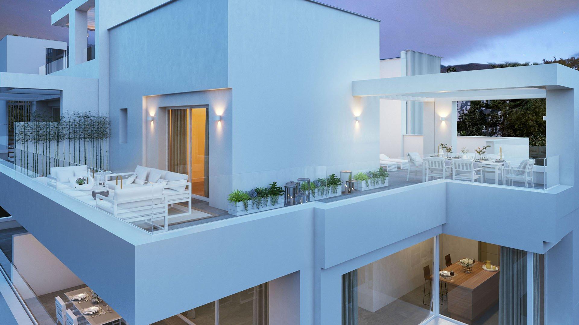 Le Caprice: Exclusieve penthouses in La Quinta Golf (Benahavis)