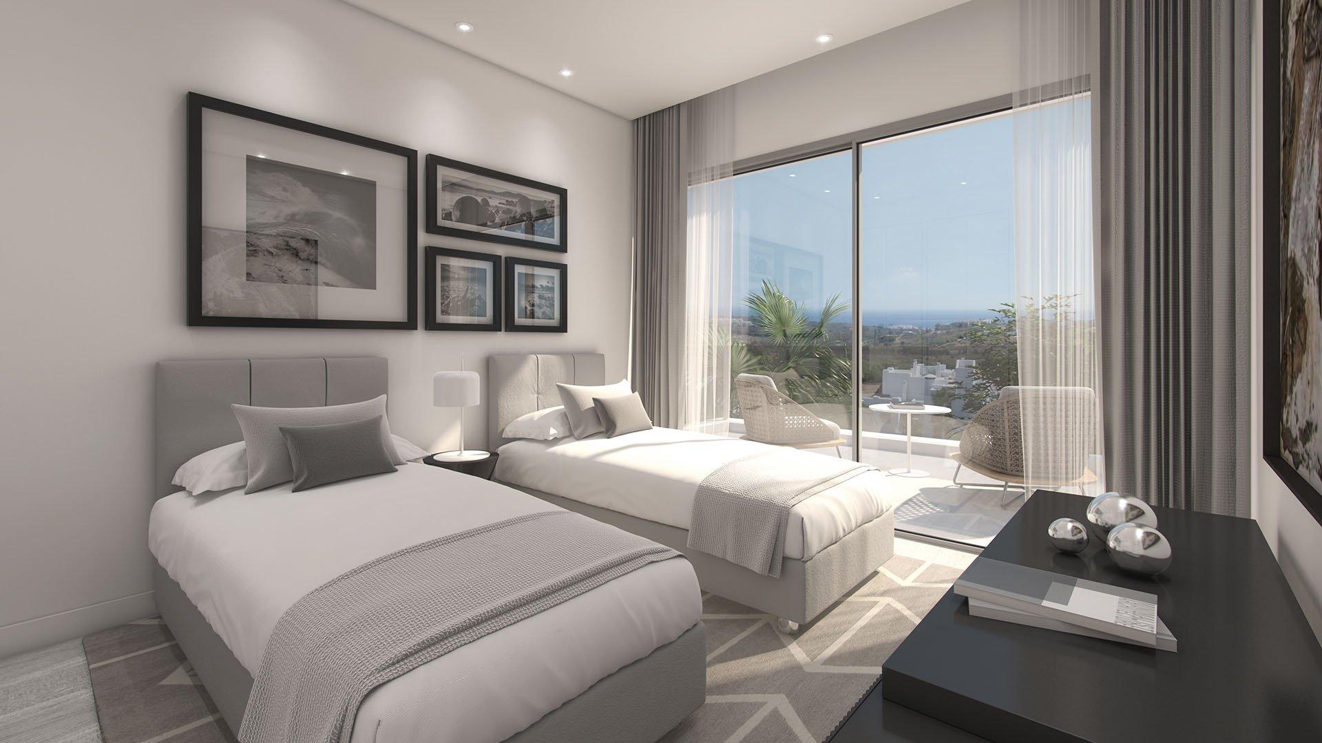 Alcazaba Lagoon: Mediterranean-style apartments in a lovely green neighbourhood