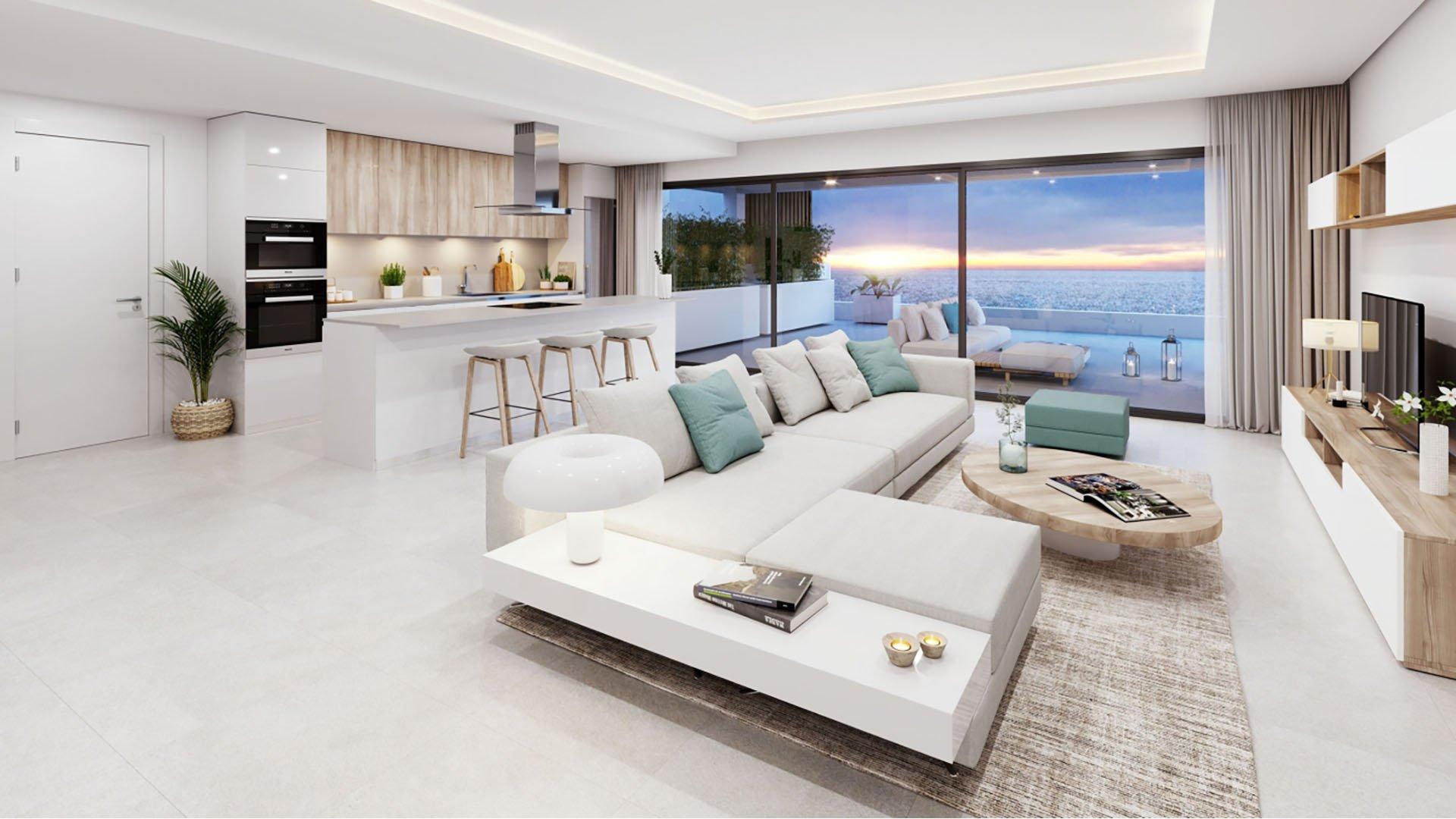 Alexia Life: Luxe penthouses op wandelafstand van centrum Estepona en stranden