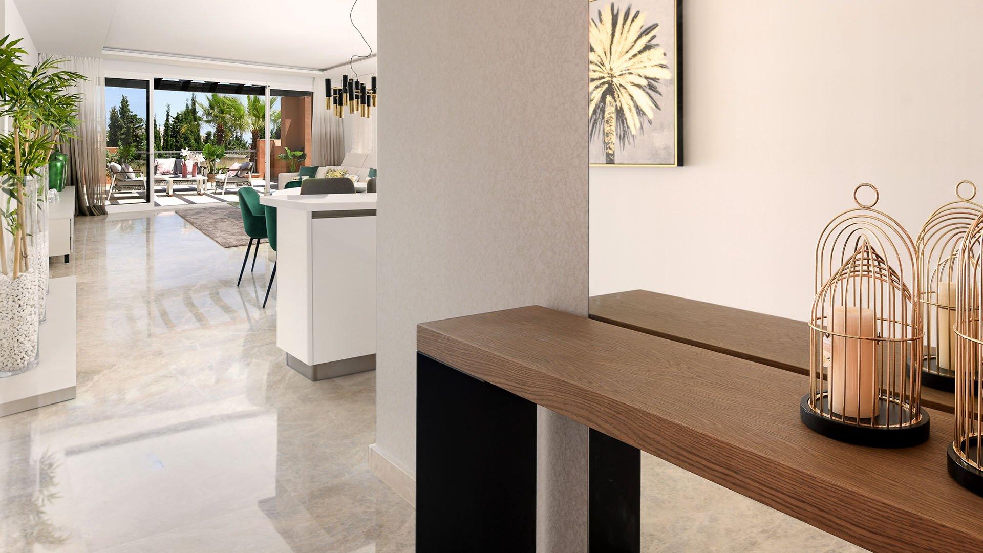 Alminar de Marbella – phase 2: Apartments in the Golf Valley in Marbella