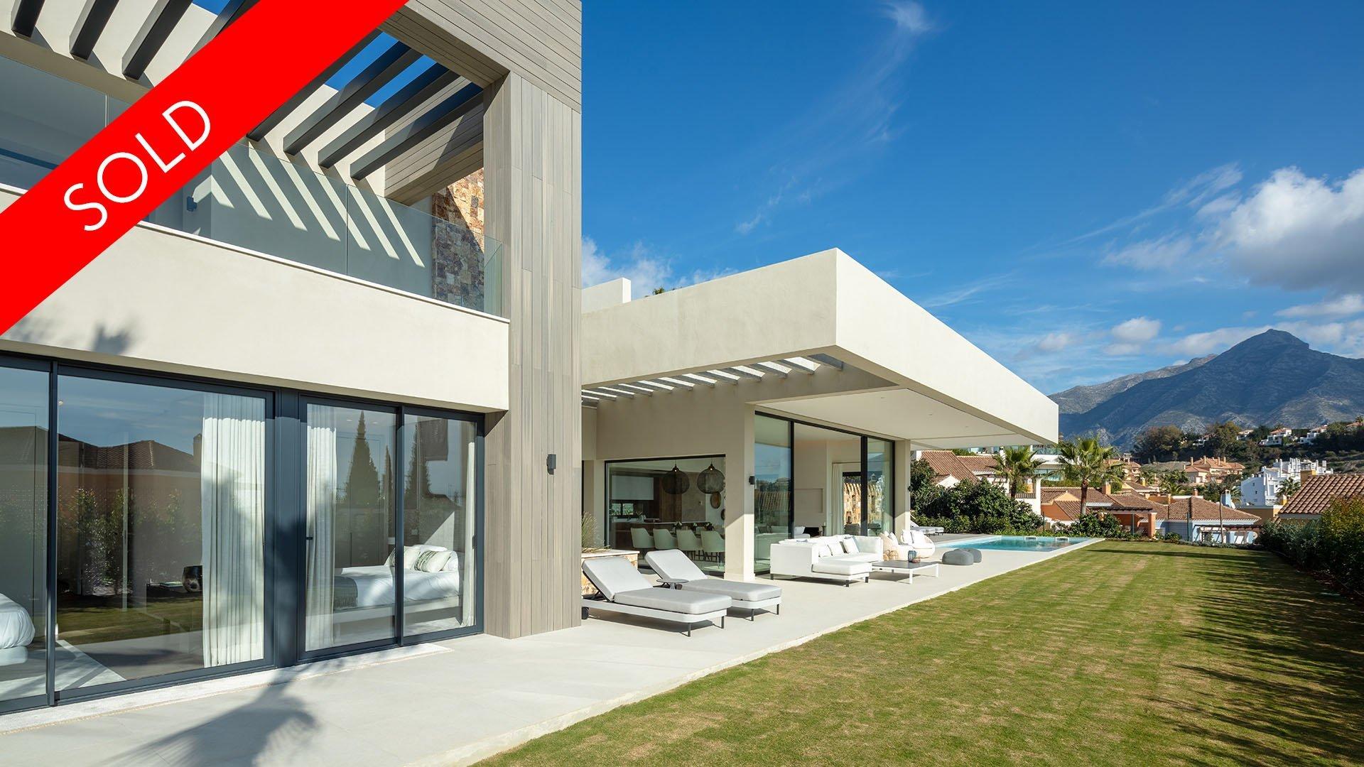 Anamaya: Boutique ontwikkeling van 5 eigentijdse luxe villa's in Marbella