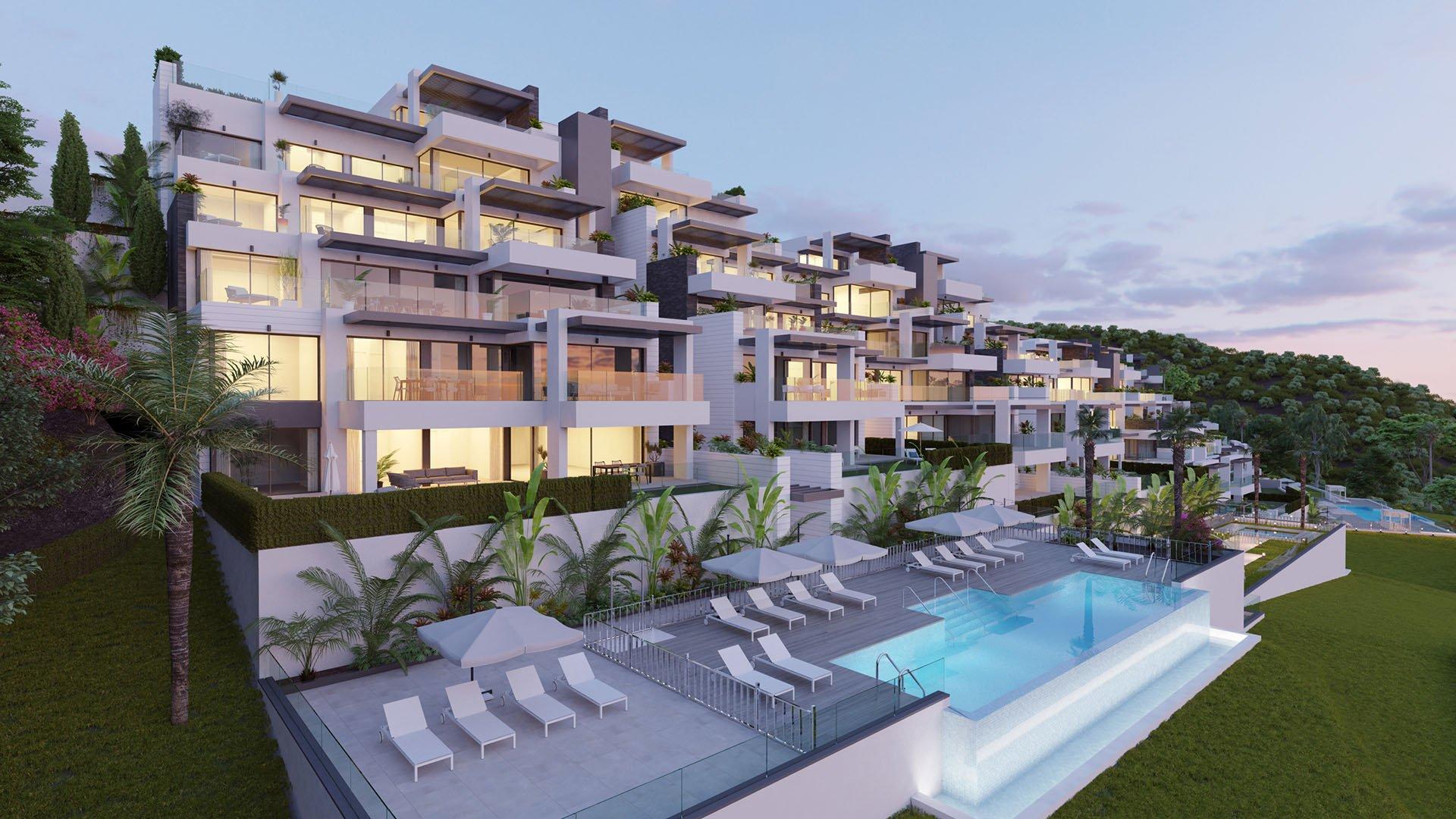 Aqualina: Exclusive penthouses with panoramic sea views in Benahavís