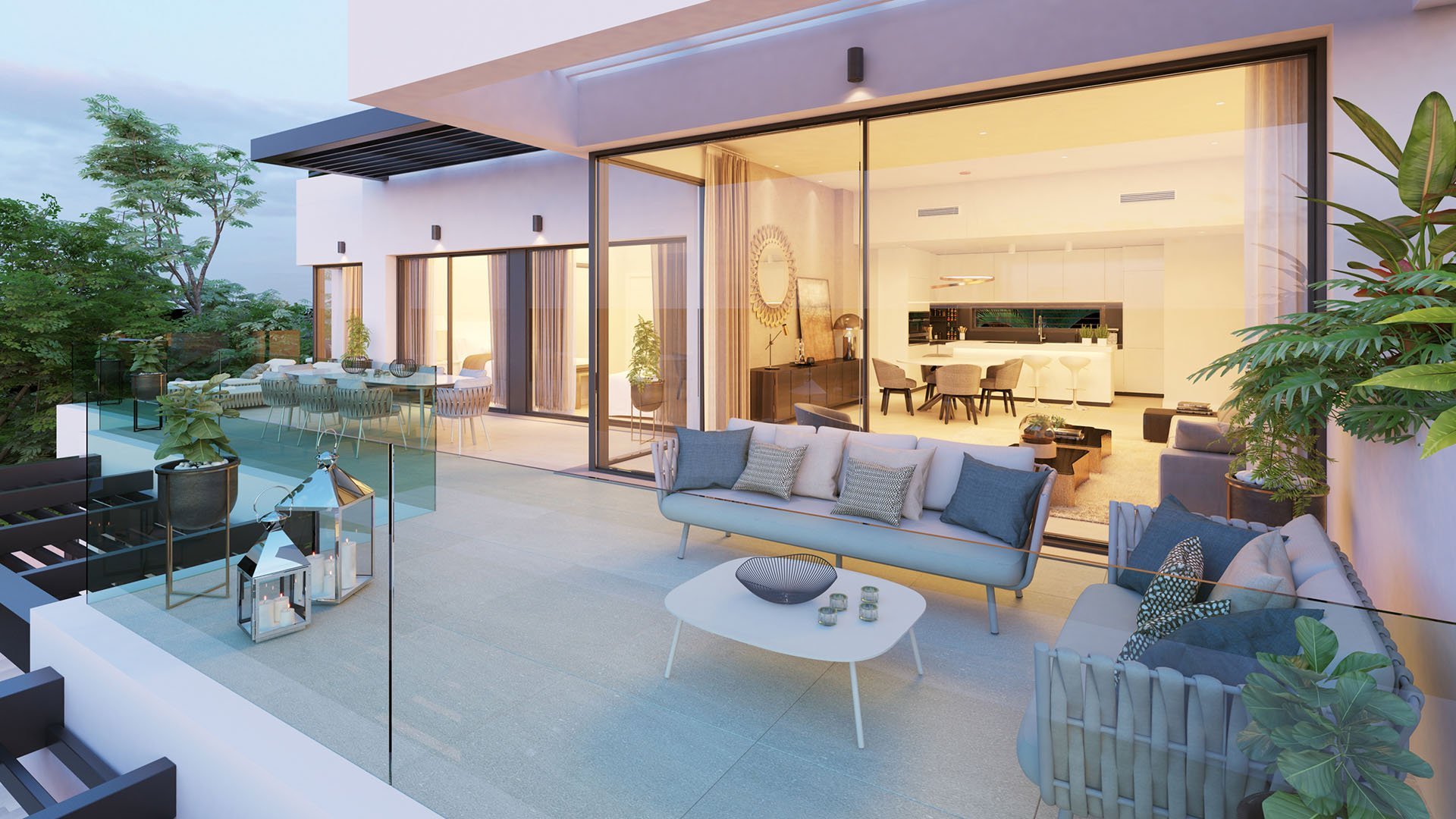 Aqualina: Exclusive apartments with panoramic sea views in Benahavís