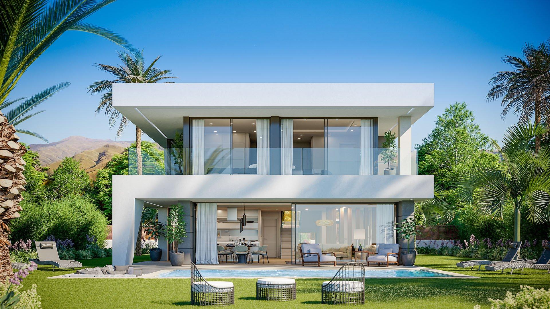 Aquamarina: Prachtig ontworpen luxe villa's in Manilva