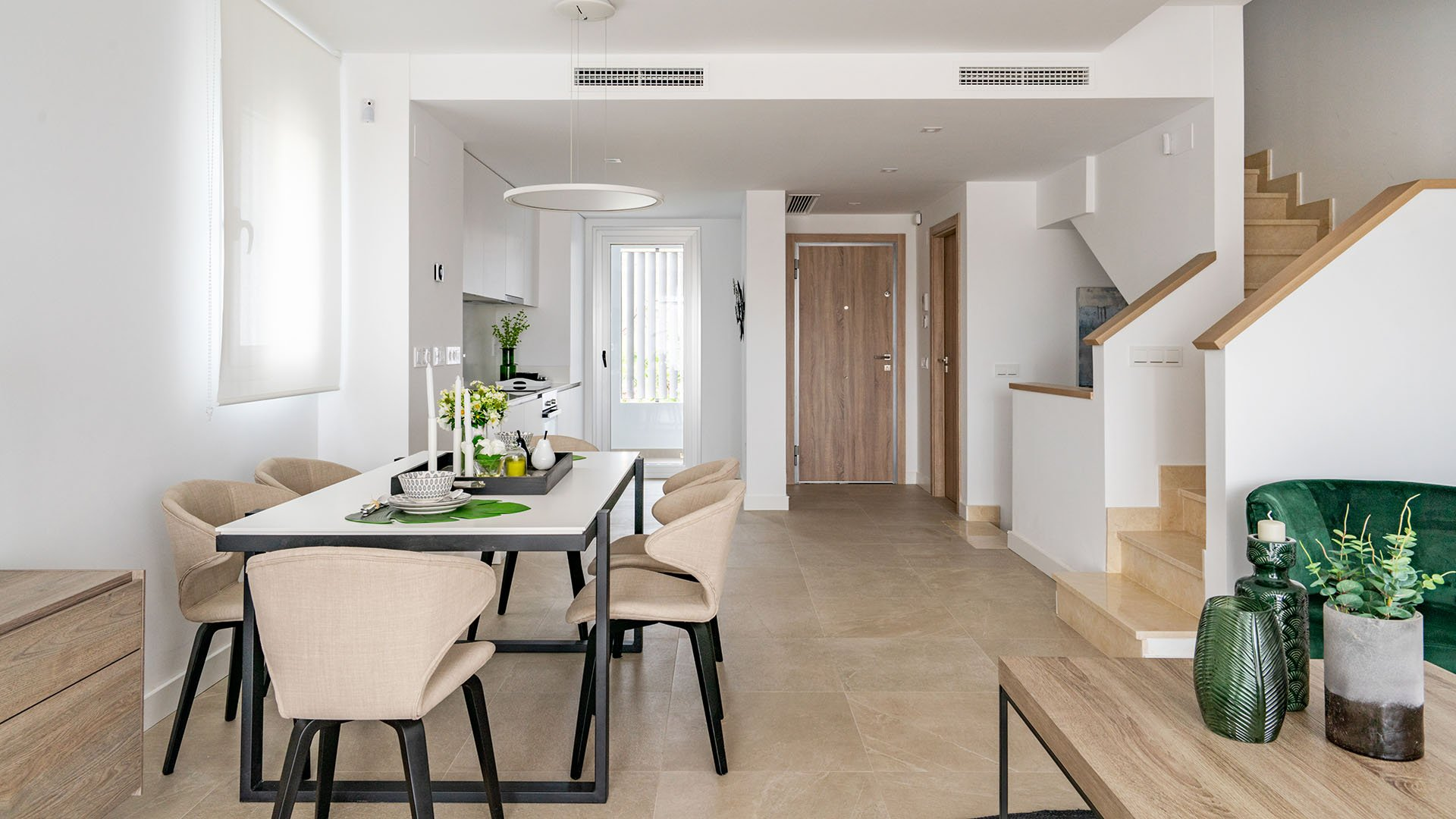 Green Golf: Semi-detached frontline golf houses with large terraces