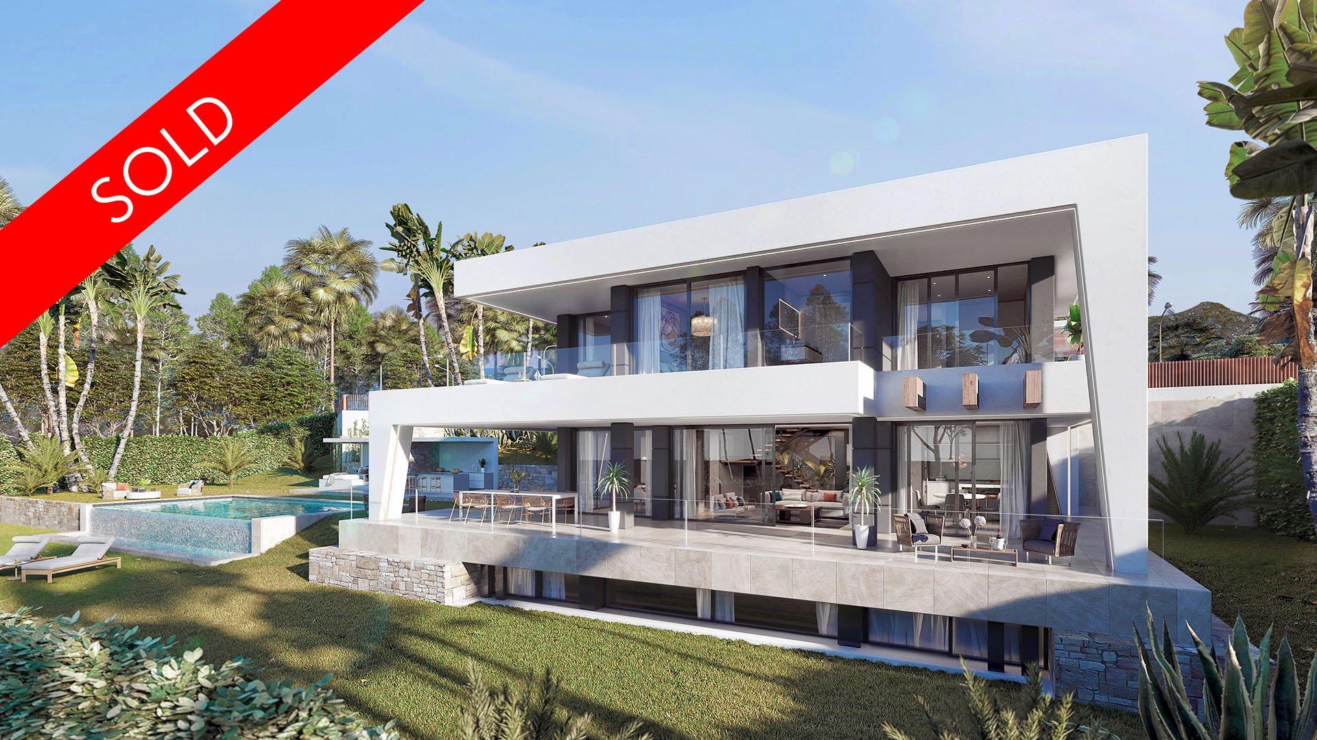 Buenas Noches Beach: Amazing contemporary villa in Estepona