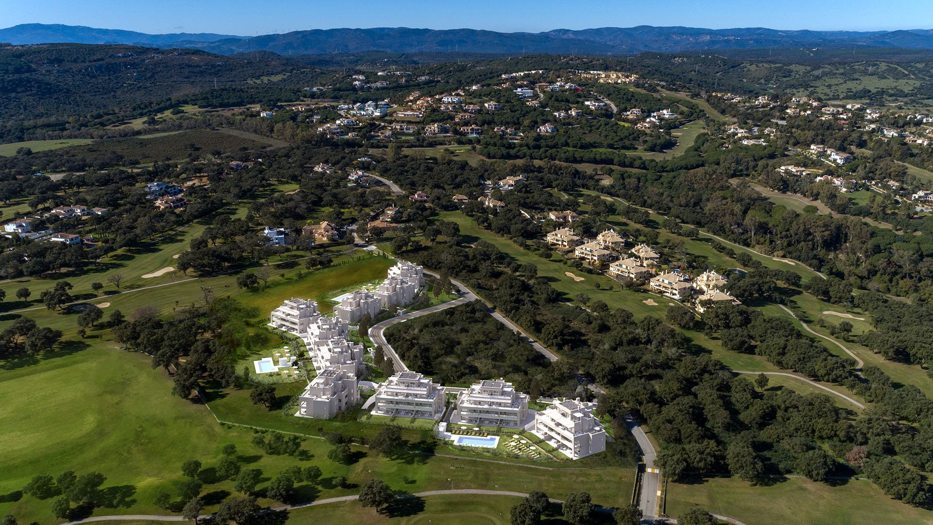 Emerald Greens: Attractive penthouses in an oasis of tranquility near San Roque Club resort