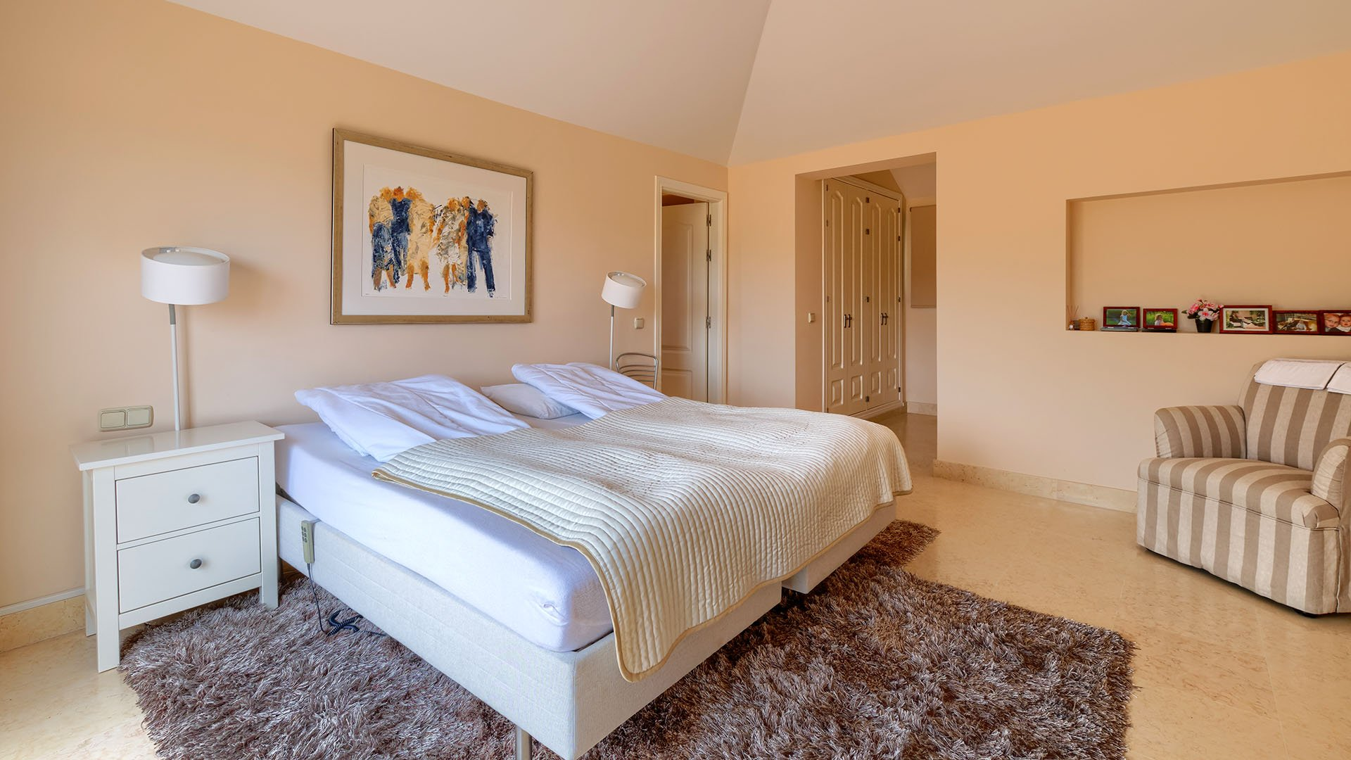Capanes del Golf: Well located duplex penthouse with beautiful view over golf in Benahavís