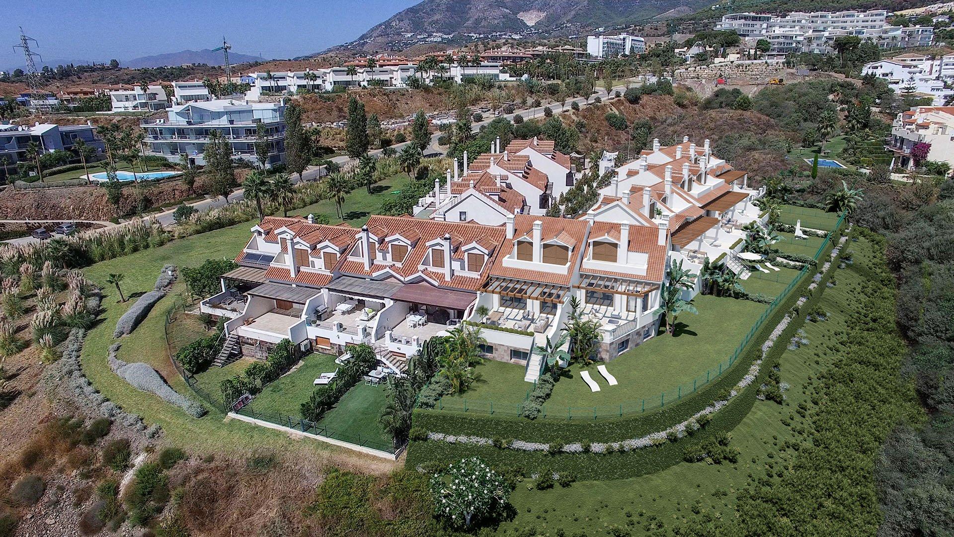 Casa del Sol: Gerenoveerde schakelwoning te Benalmádena