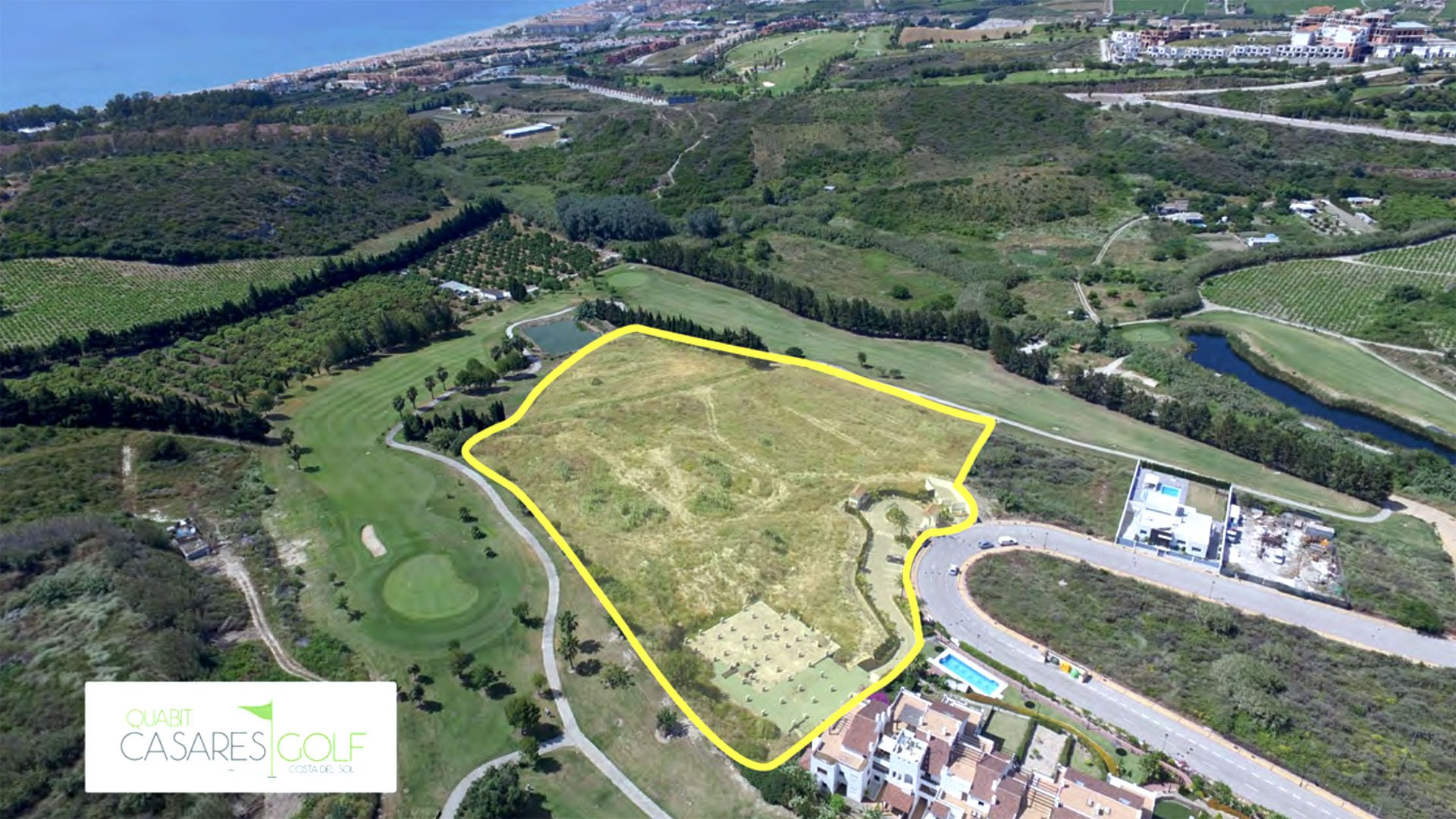 Casares Golf: Exclusief project verweven in de heuvels en golf baan