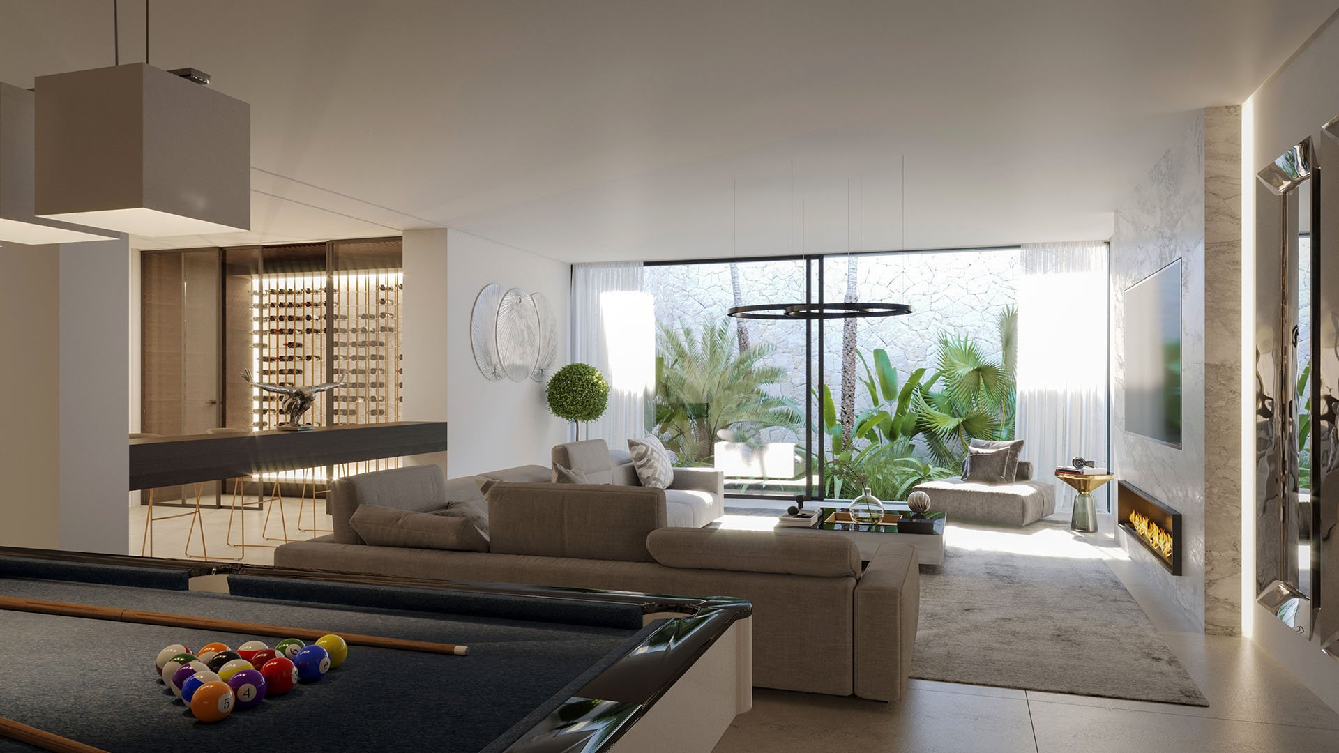 Cortijo Blanco Beach: Prachtige designer villa in Marbella dicht bij het strand