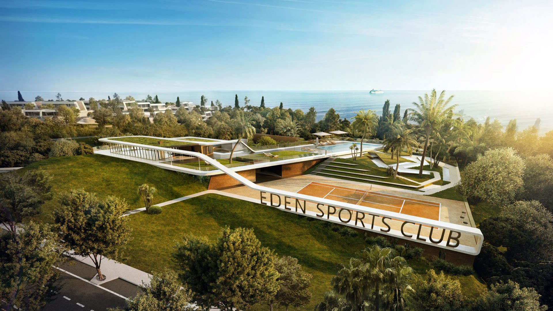 Eden: Luxury townhouses in an exclusive resort