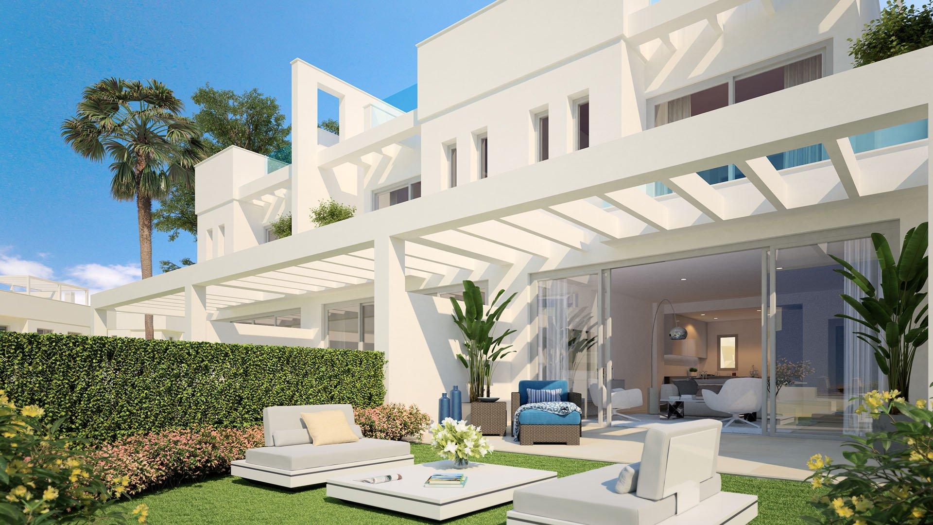 El Romeral: Modern townhouses in Calahonda