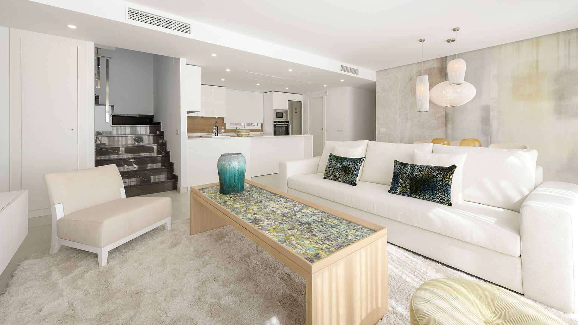 Elements: Modern apartments in a quiet residential area close to Marbella
