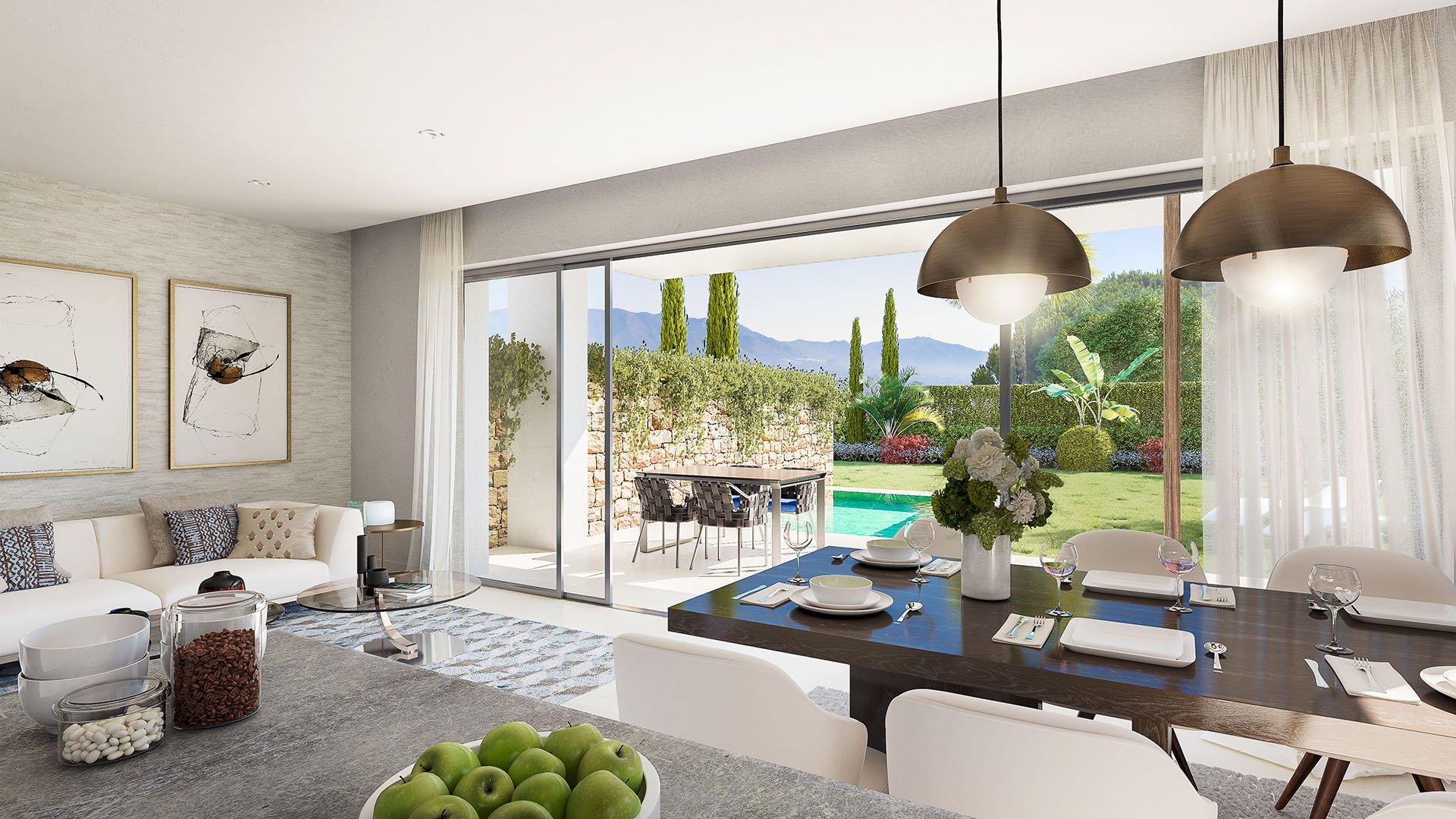 Elite: Luxury townhouses in an idyllic environment
