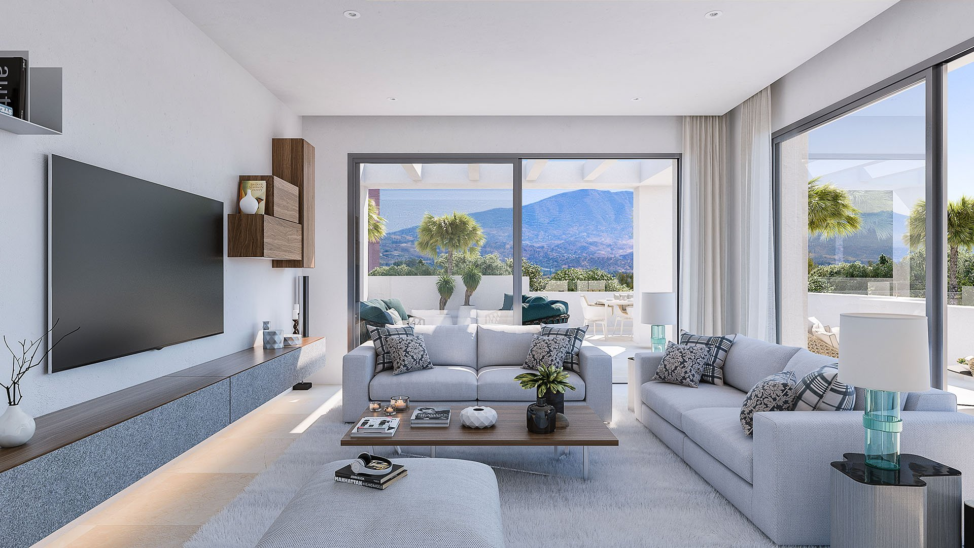 Elite: Luxury penthouses in an idyllic environment