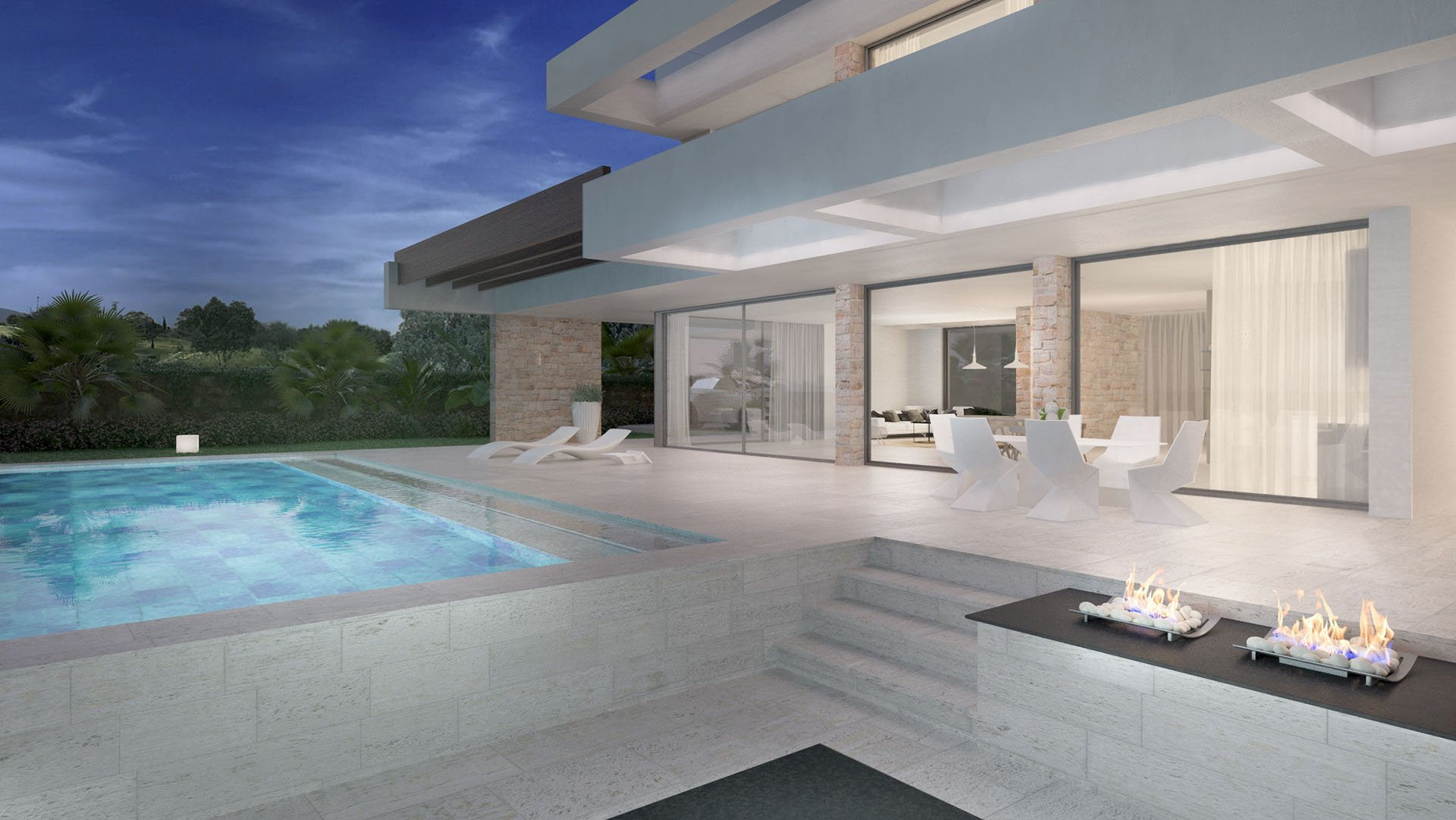 Villa Elviria Sea Golf: Luxury villa at Santa Maria Golf Club in Marbella