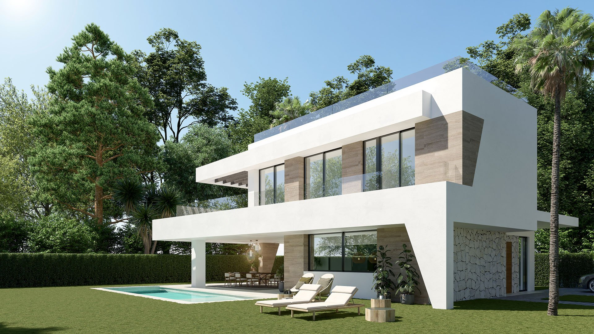 Estrella del Mar II: Modern villa within walking distance from the most beautiful beaches of Marbella