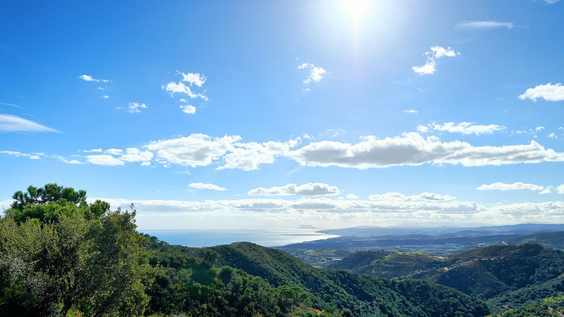 Finca El Quejigal: Fabulous finca with stunning views over the sea and the mountains