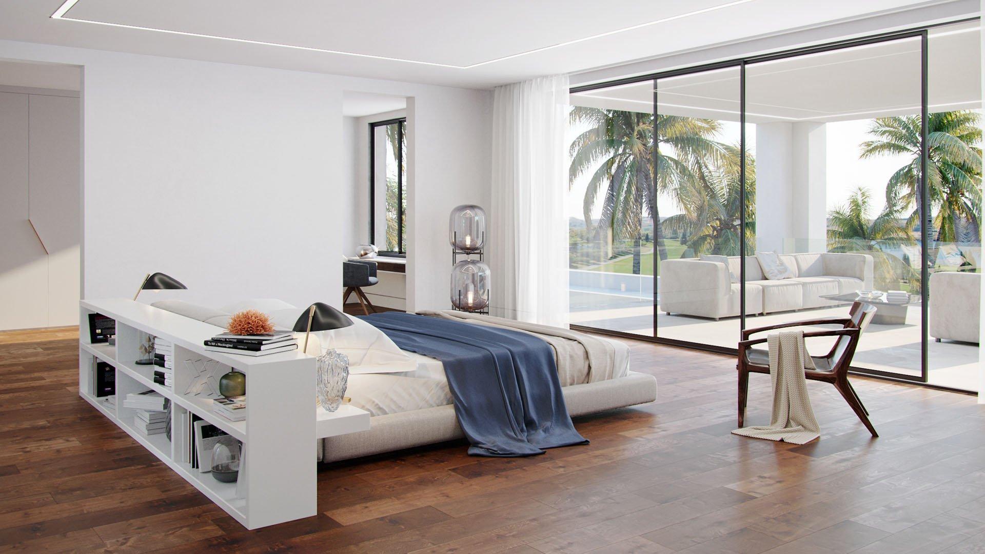 Flamingos 130: Front line golf prestigious luxury villa in Los Flamingos