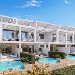 townhouses with stunning views over the sea