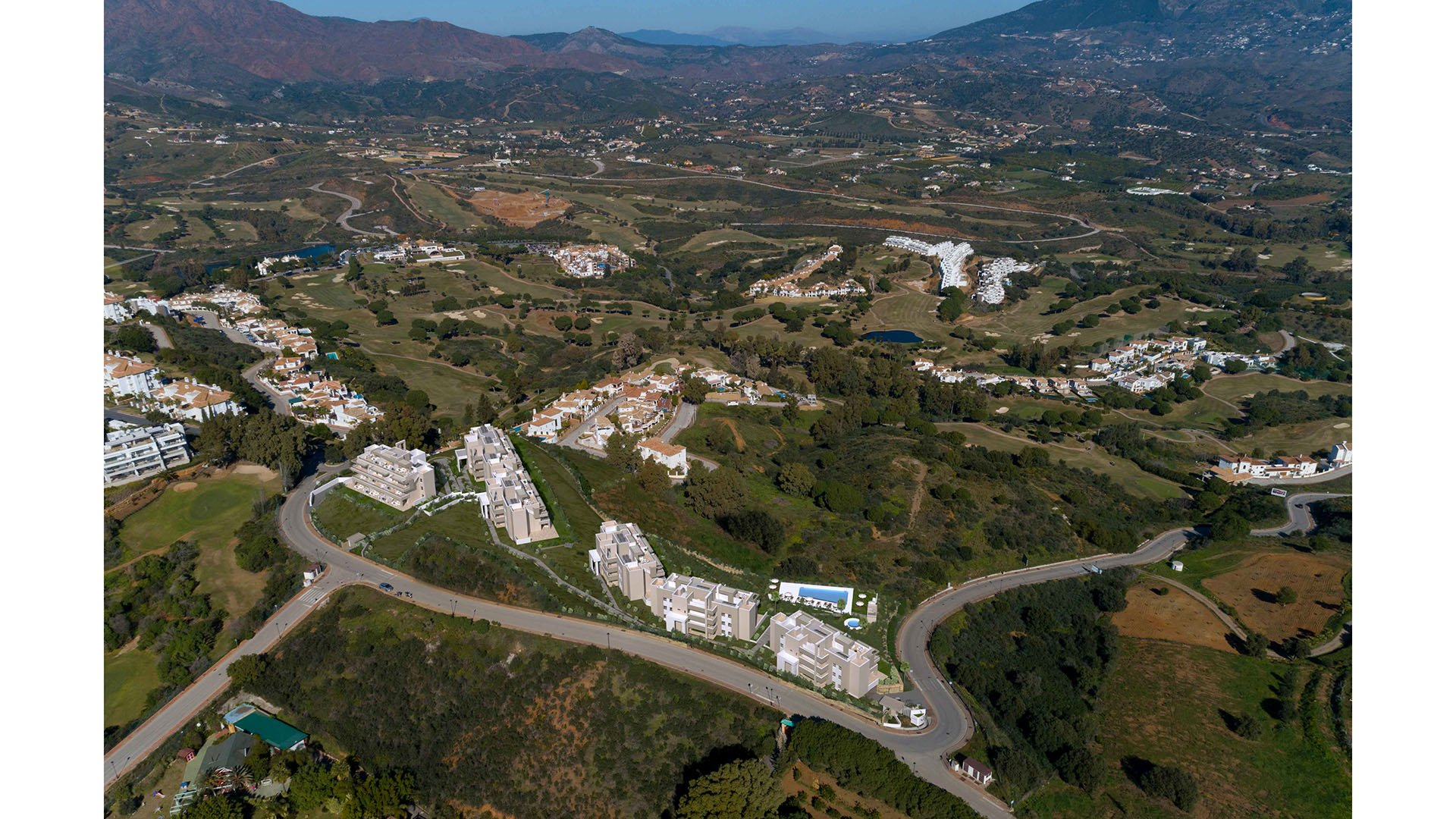 Harmony: Apartments in serene natural surroundings next to the golf course