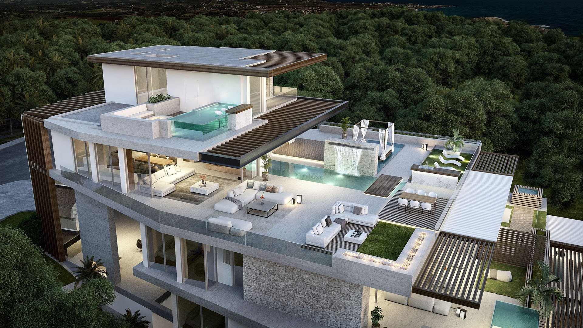 Ikkil Bay: Luxury apartments and a penthouse in a privileged front line beach location in Estepona