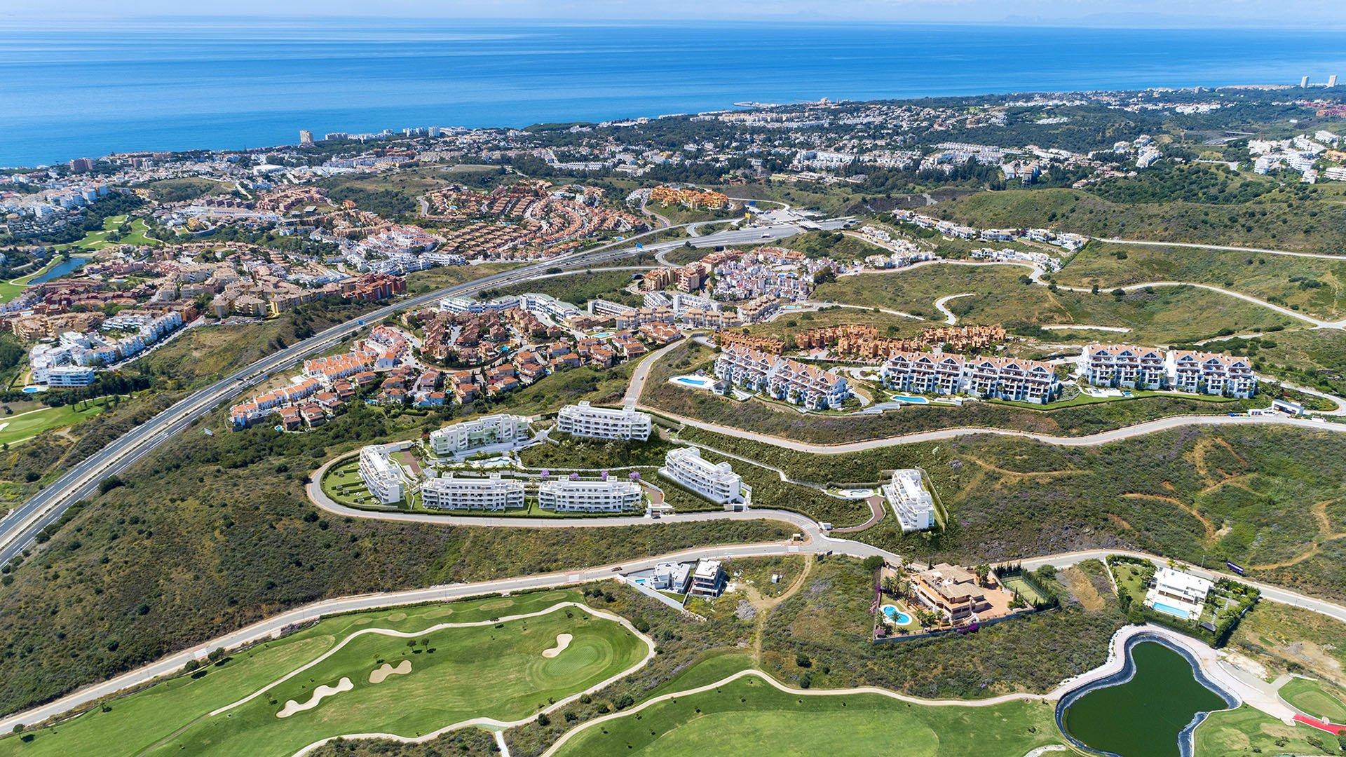 Ipanema: Penthouses met zicht op de zee en de Calanova golf