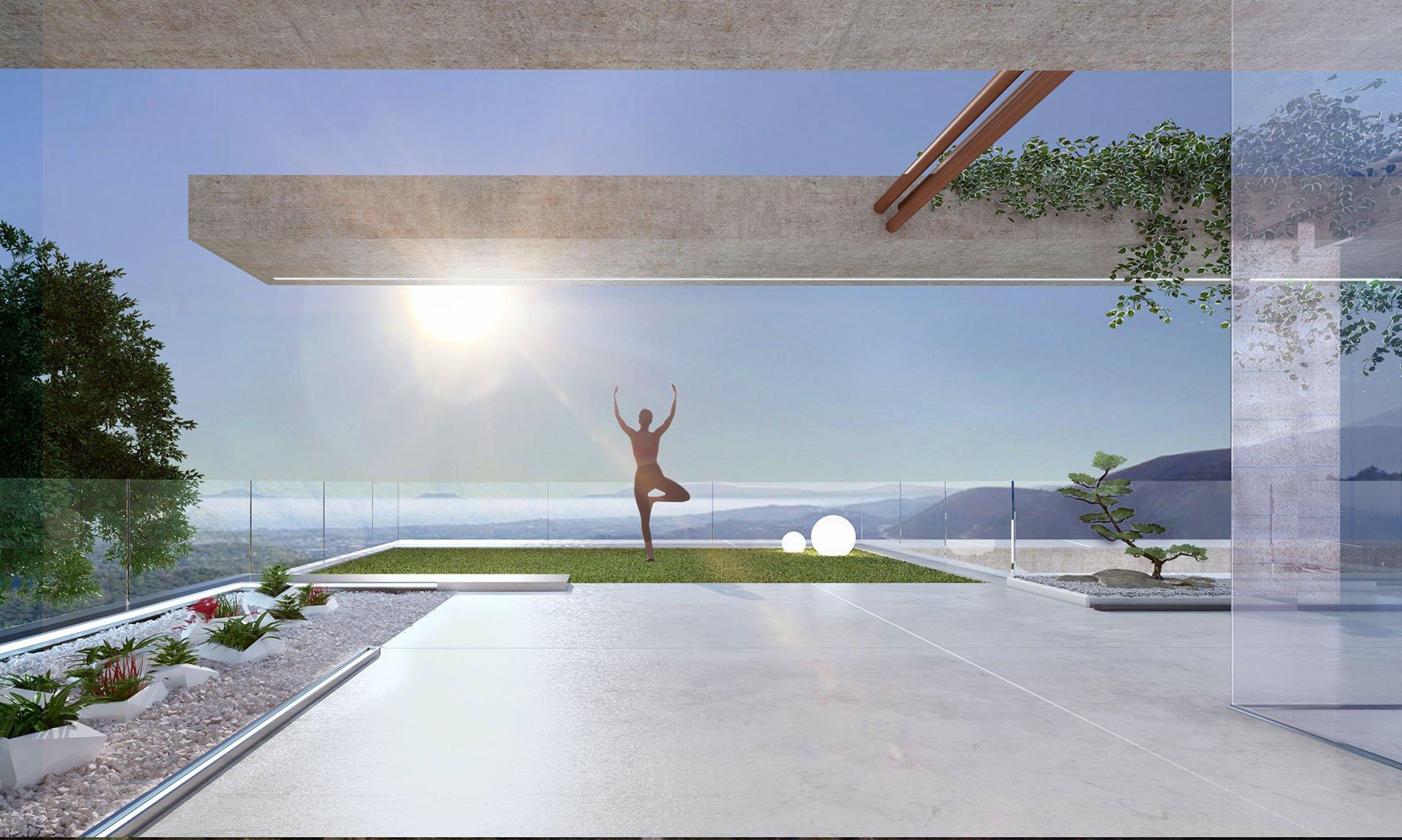 Istán II:  Luxe villa met onovertroffen zeezicht over het meer van het Istán