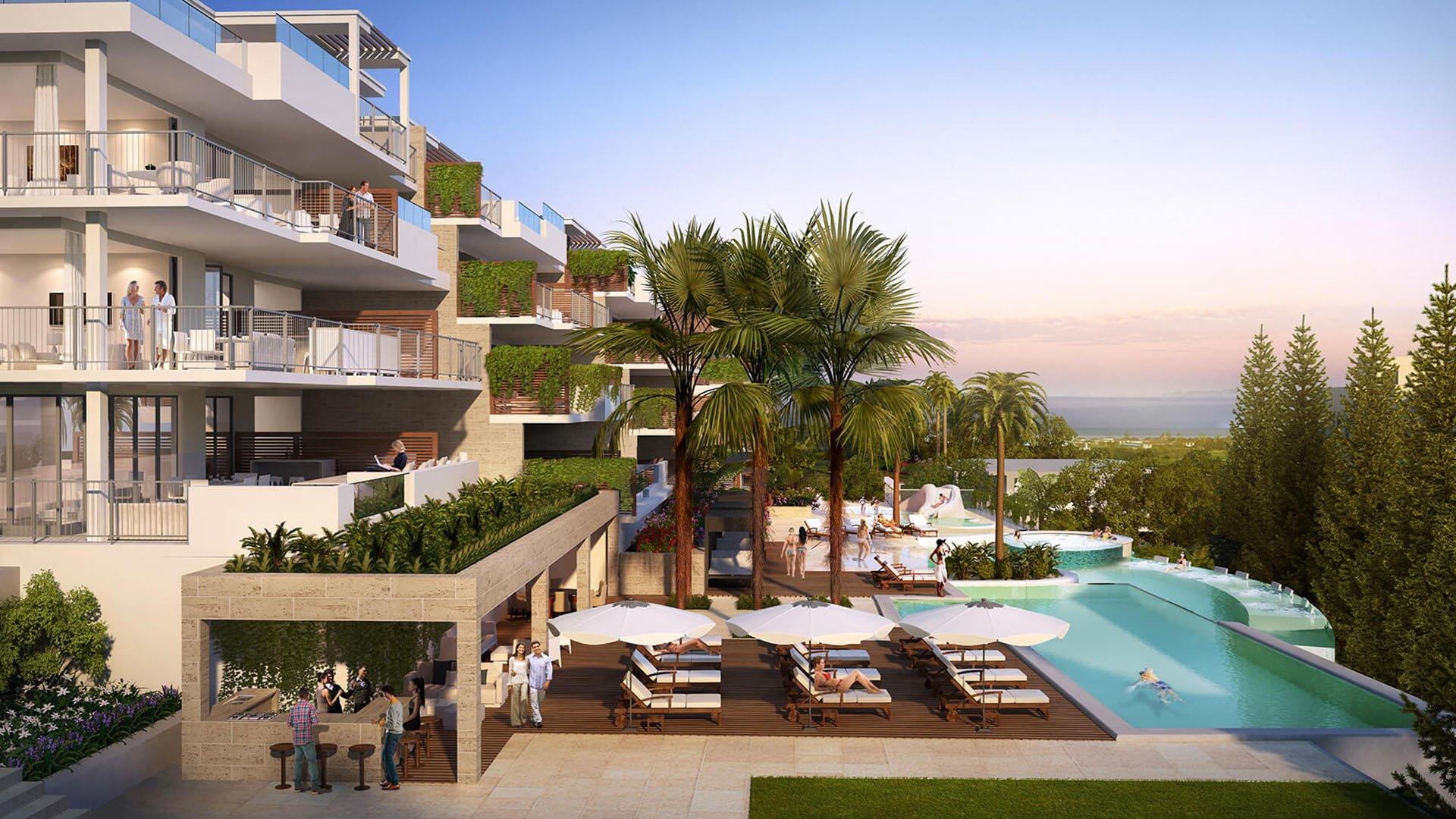 Lotus Jardinana: Modern apartments with resort facilities