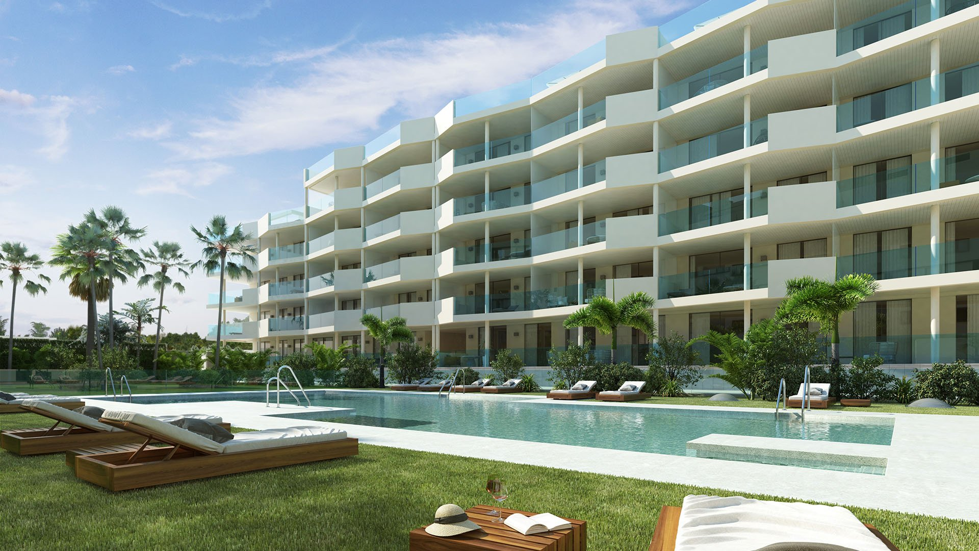 Jardines de Las Lagunas: Stylish apartments in an extraordinary location