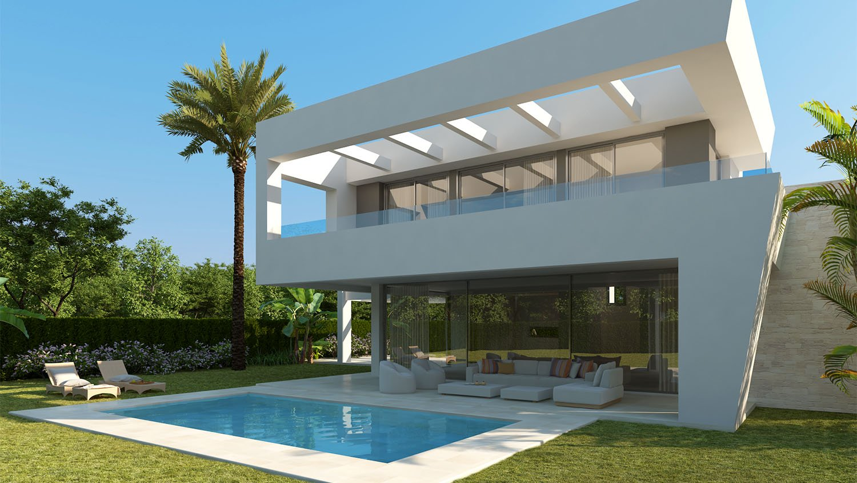 La Finca 2 Villa's: Luxueuze villa's op een onovertroffen locatie in Marbella
