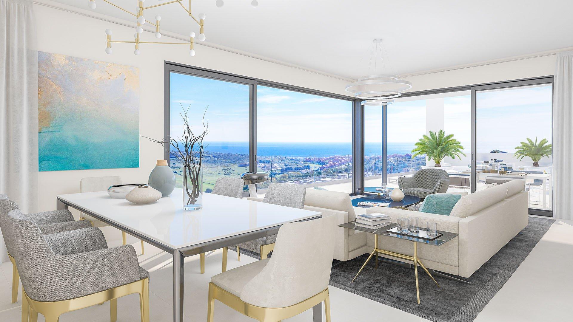 Las Terrazas de Cortesín Bon Air: Prachtige appartementen met verbluffend zicht op de zee en de bergen