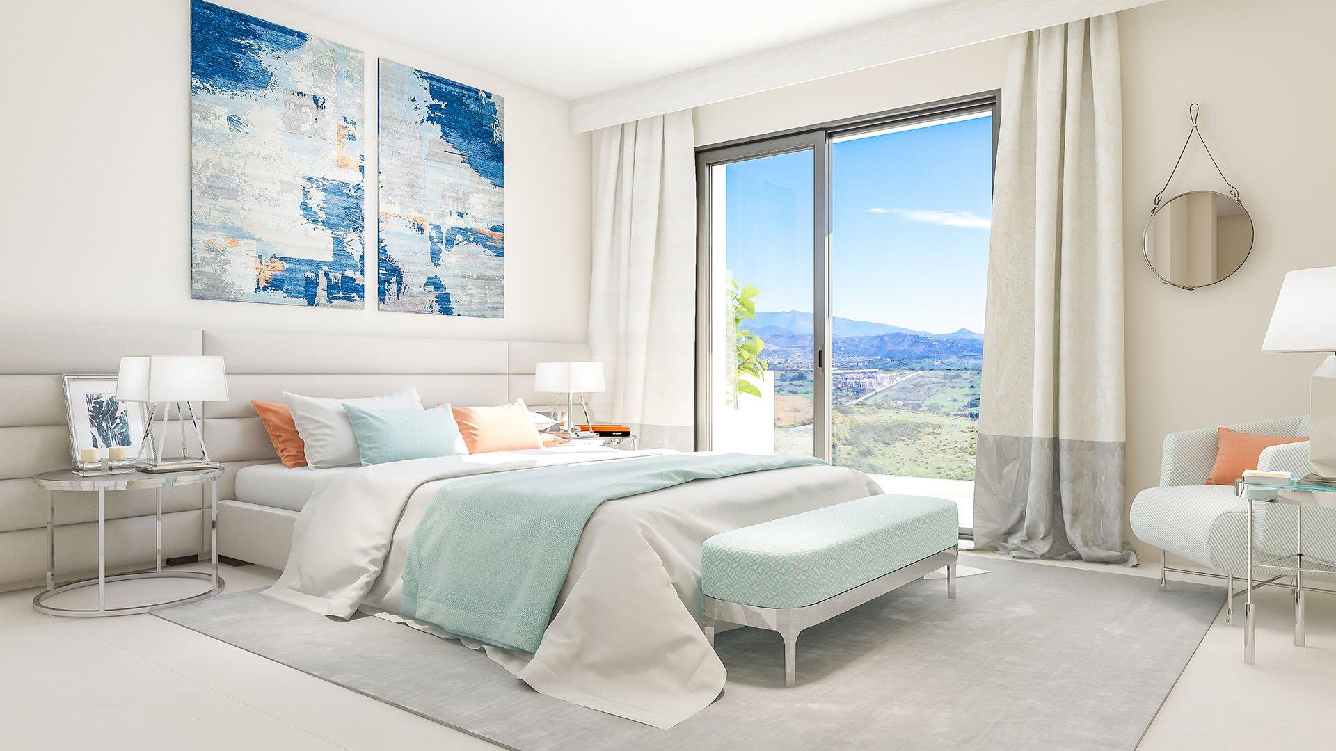 Las Terrazas de Cortesín Bon Air: Prachtige penthouses met verbluffend zicht op de zee en de bergen