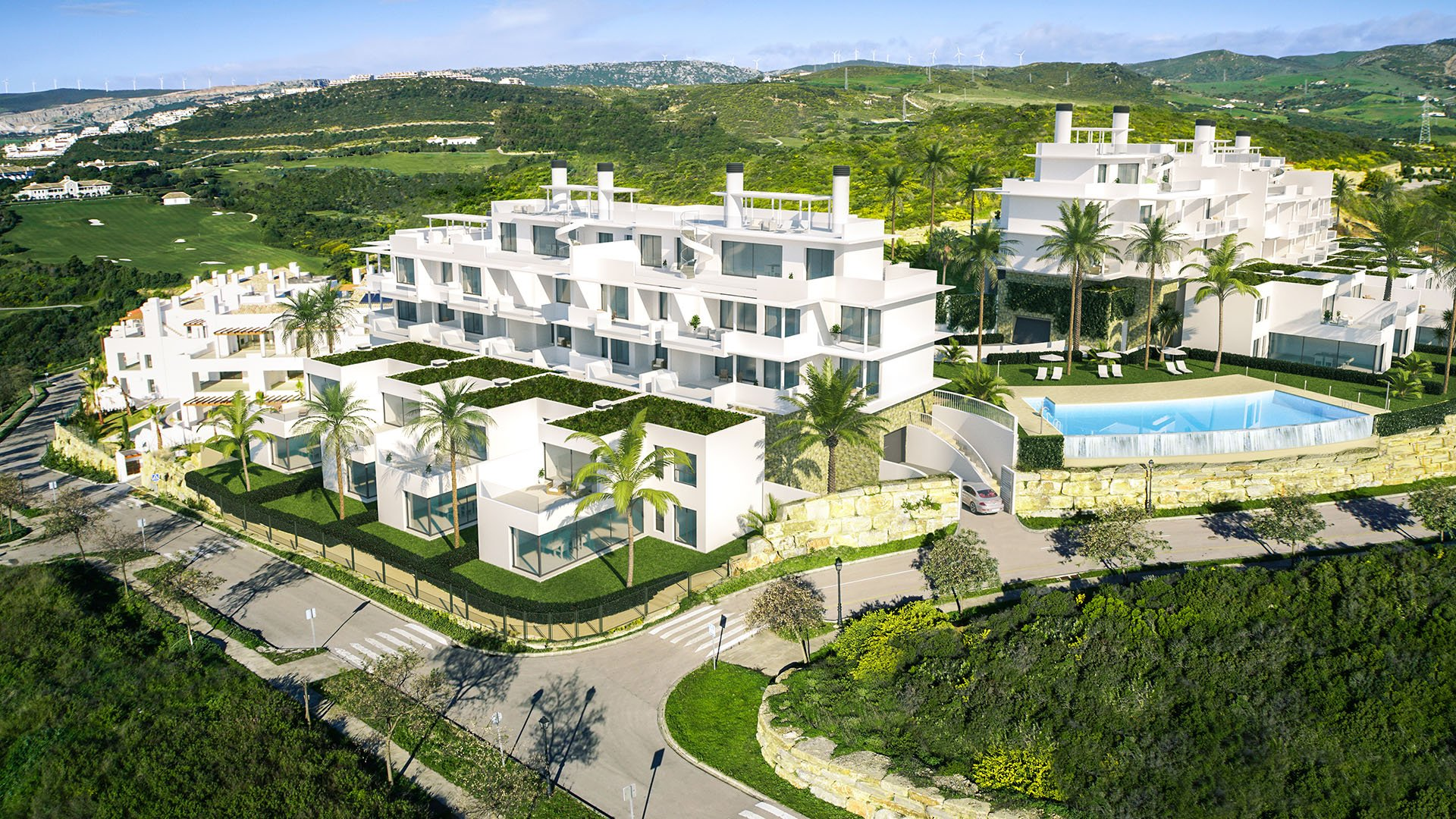 Las Terrazas de Cortesín Seaviews: Exclusive apartments at the best golf resort in Europe