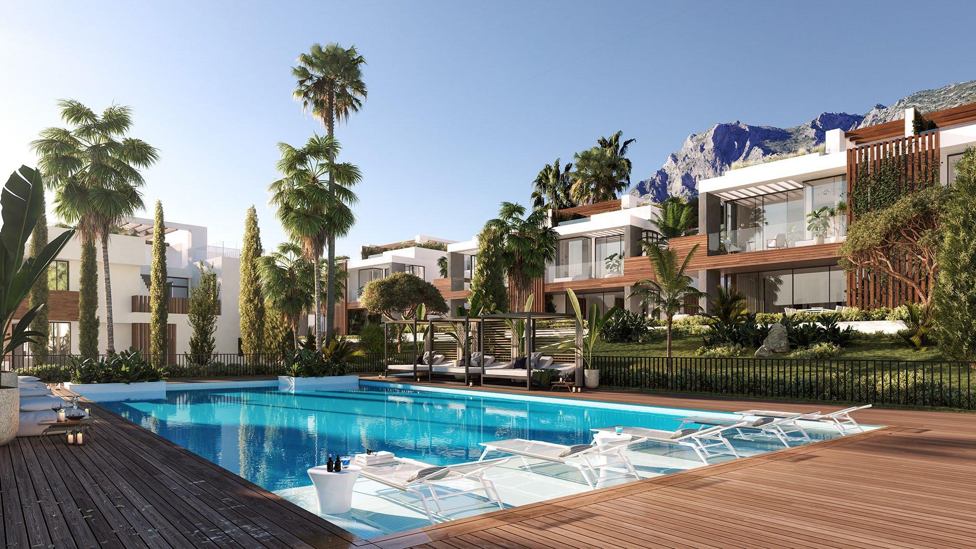 Le Blanc: Luxury villas in a great location in Marbella