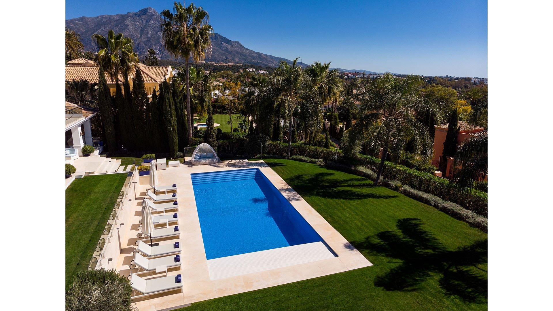La Cerquilla 30: Luxueuze villa in het hart van de Golf Valley in Marbella
