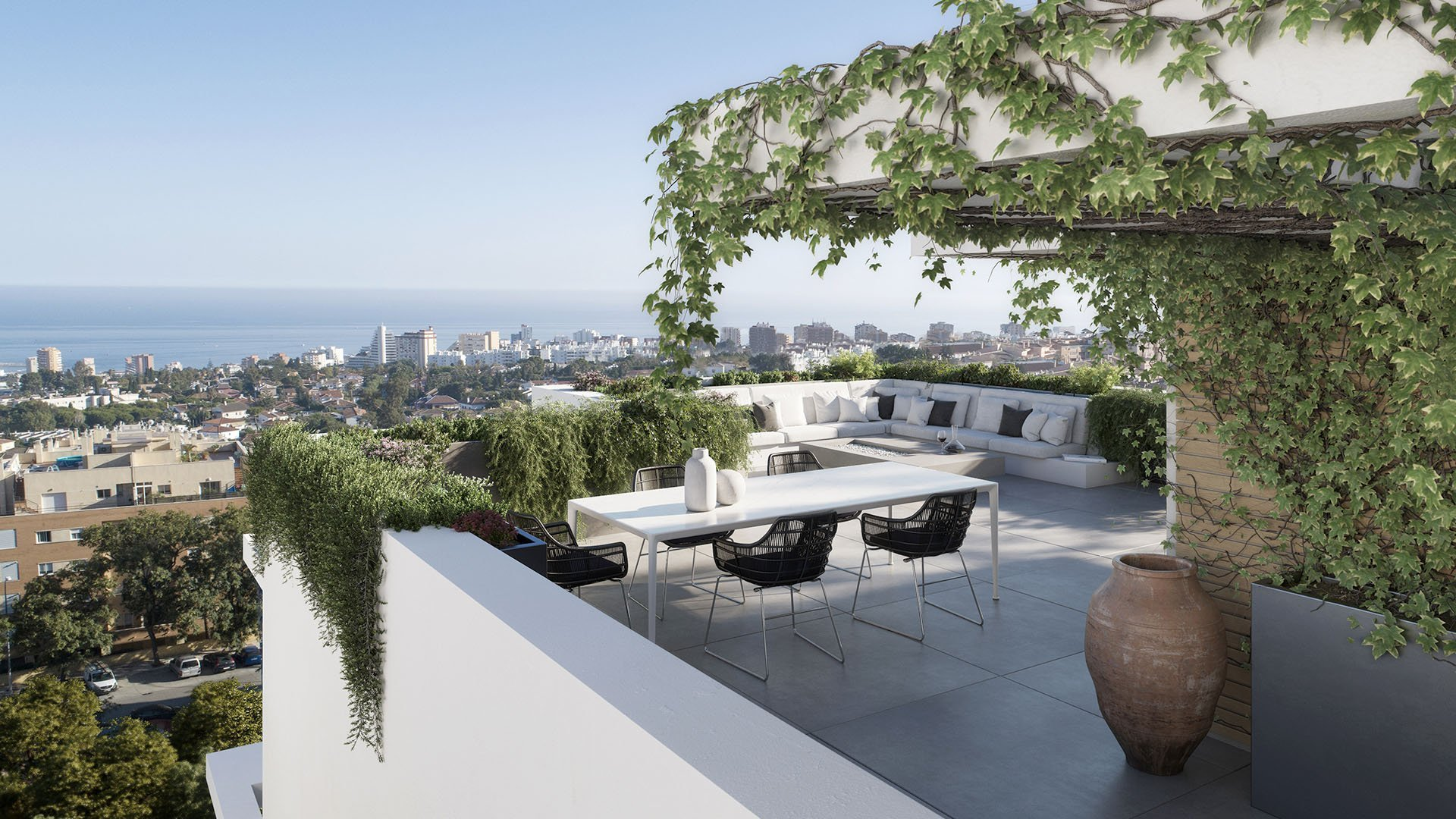La Hacienda de Leala: Appartementen met spectaculair uitzicht op zee