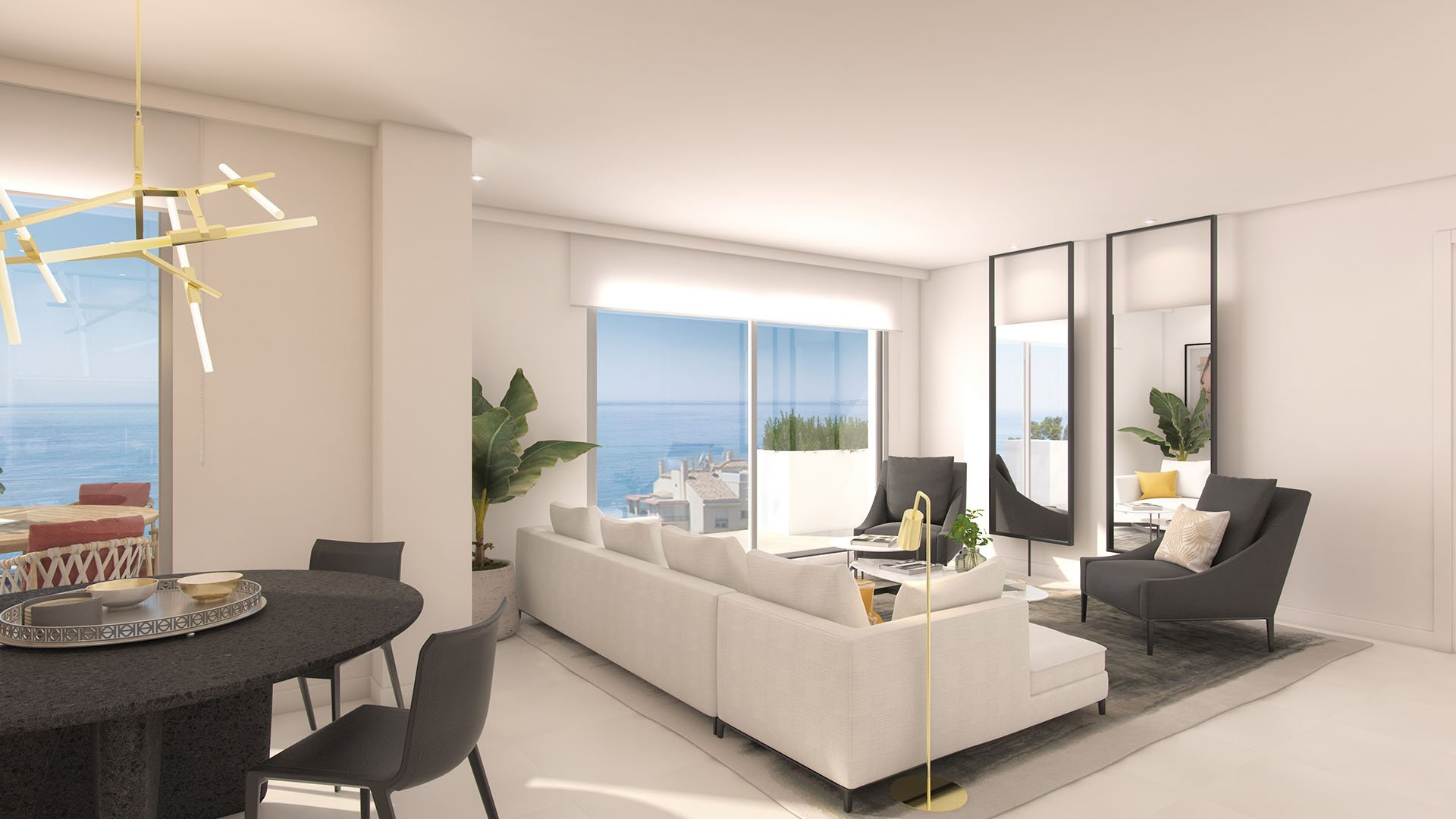 Lar Bay: Modern apartments near the beach with amazing views