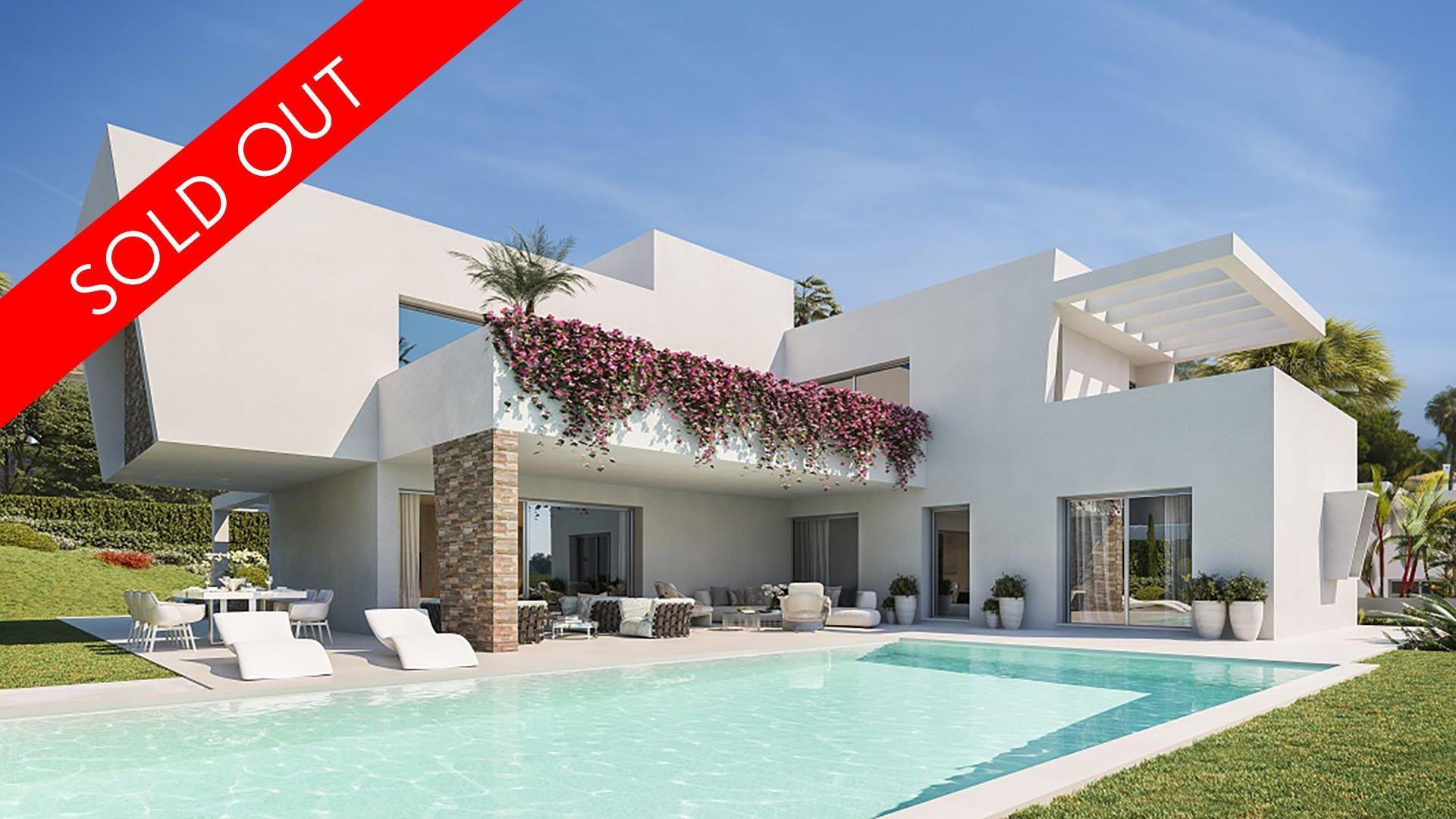 Las Perlas de Monte Biarritz : Exclusieve villa omringd door beroemde Golf resorts