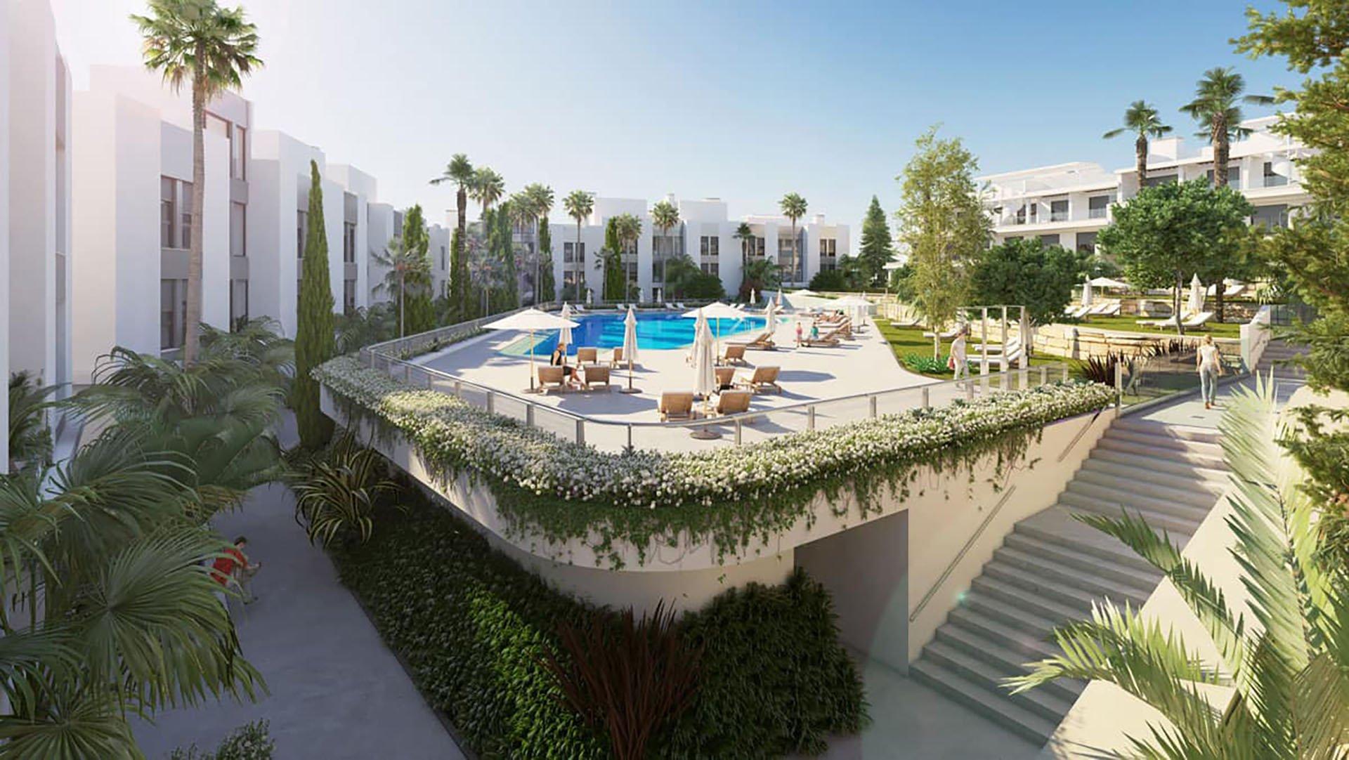 Le Mirage: Moderne townhouses en appartementen op de New Golden Mile