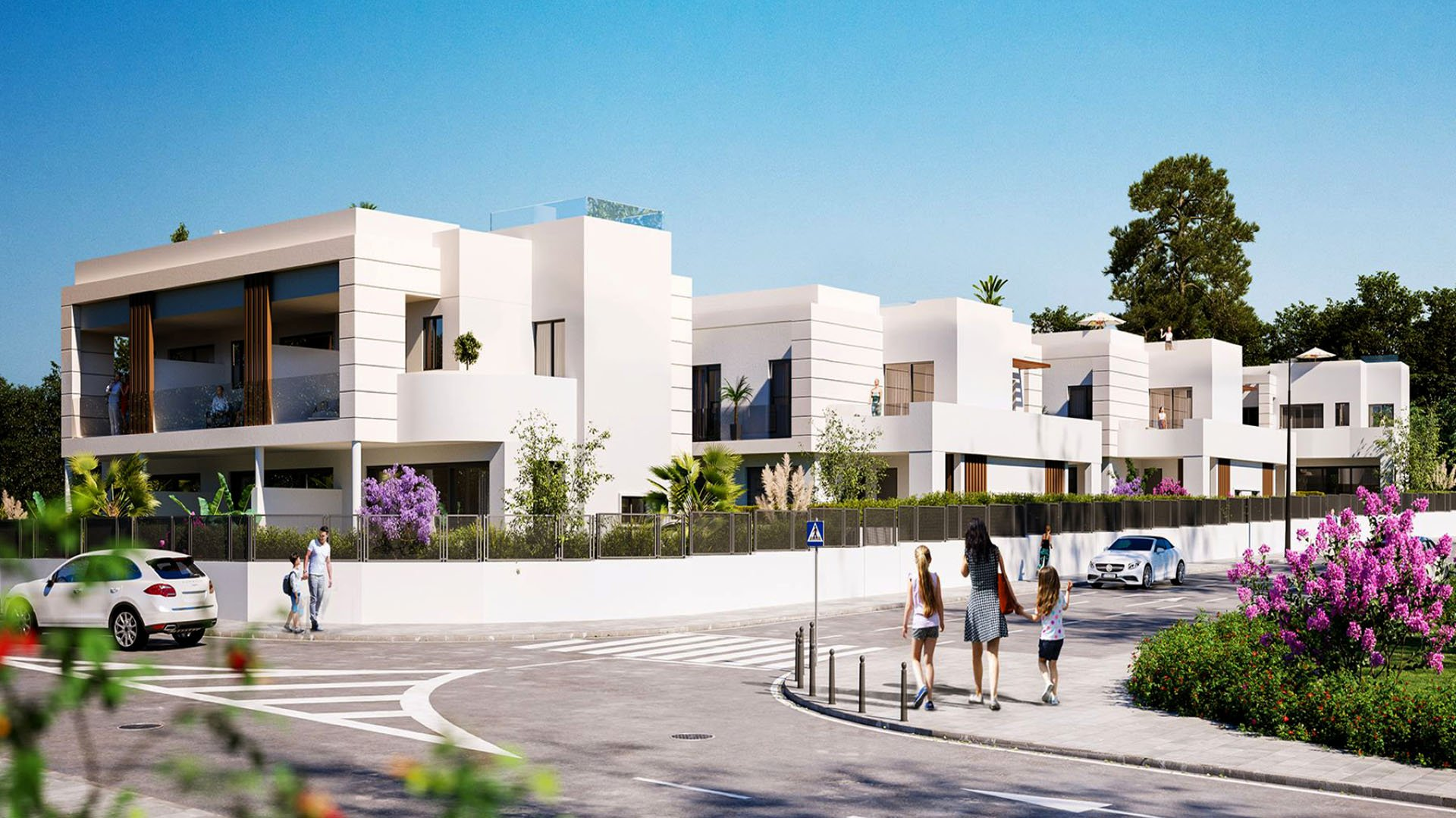 Los Miradores del Sol – Phase 3: Townhouses on the New Golden Mile