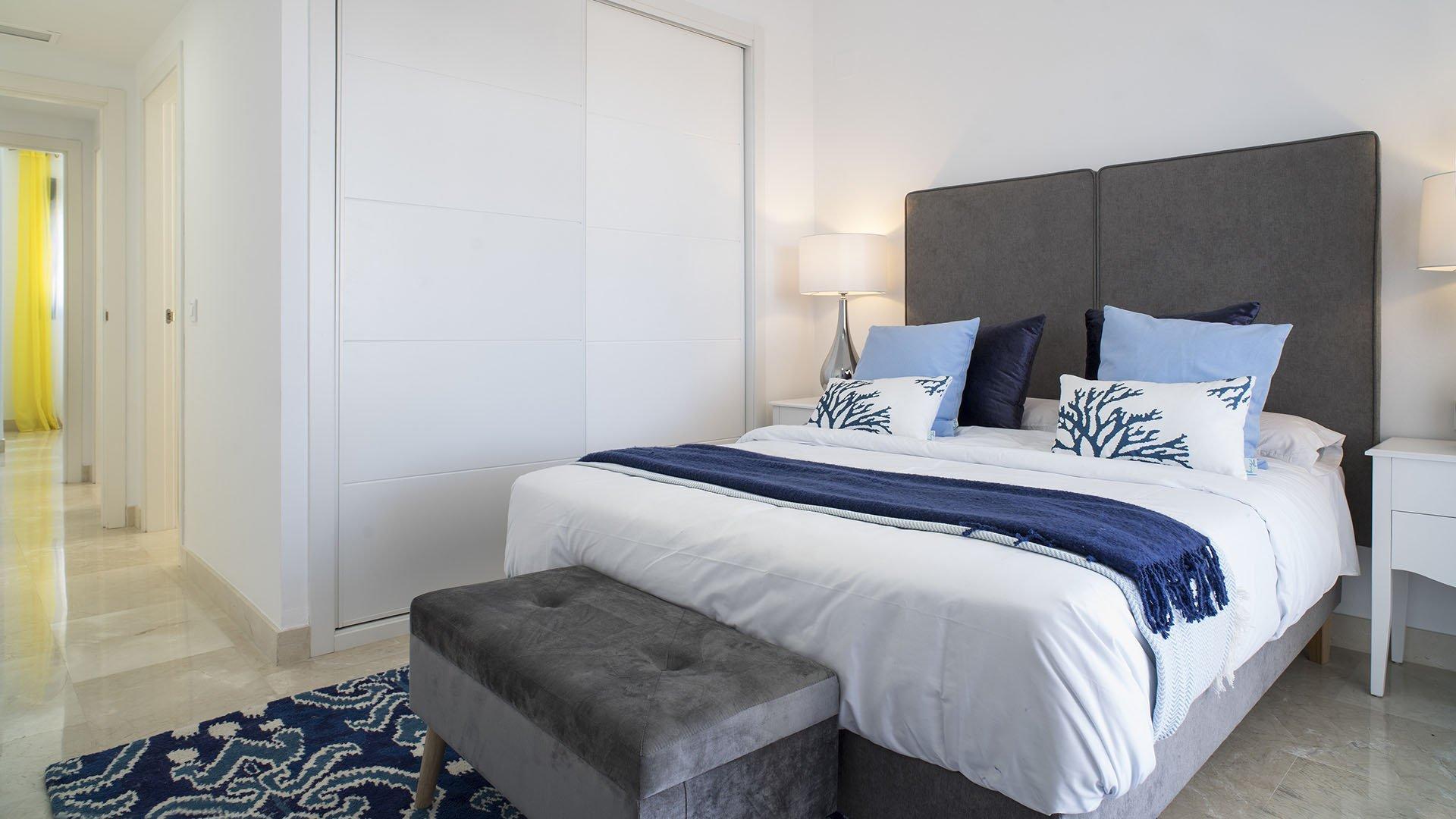 Lotus Doña Julia Casares: Contemporary apartments with sea and golf views