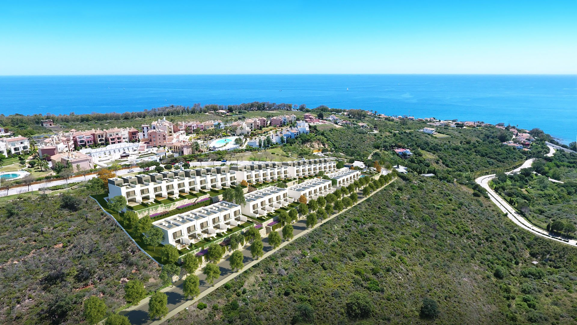 Majestic Heights: Townhouses in Manilva with phenomenal views