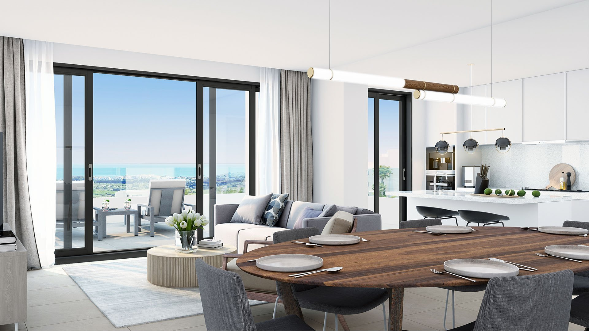 Mesas Homes: Apartments with phenomenal views near Estepona